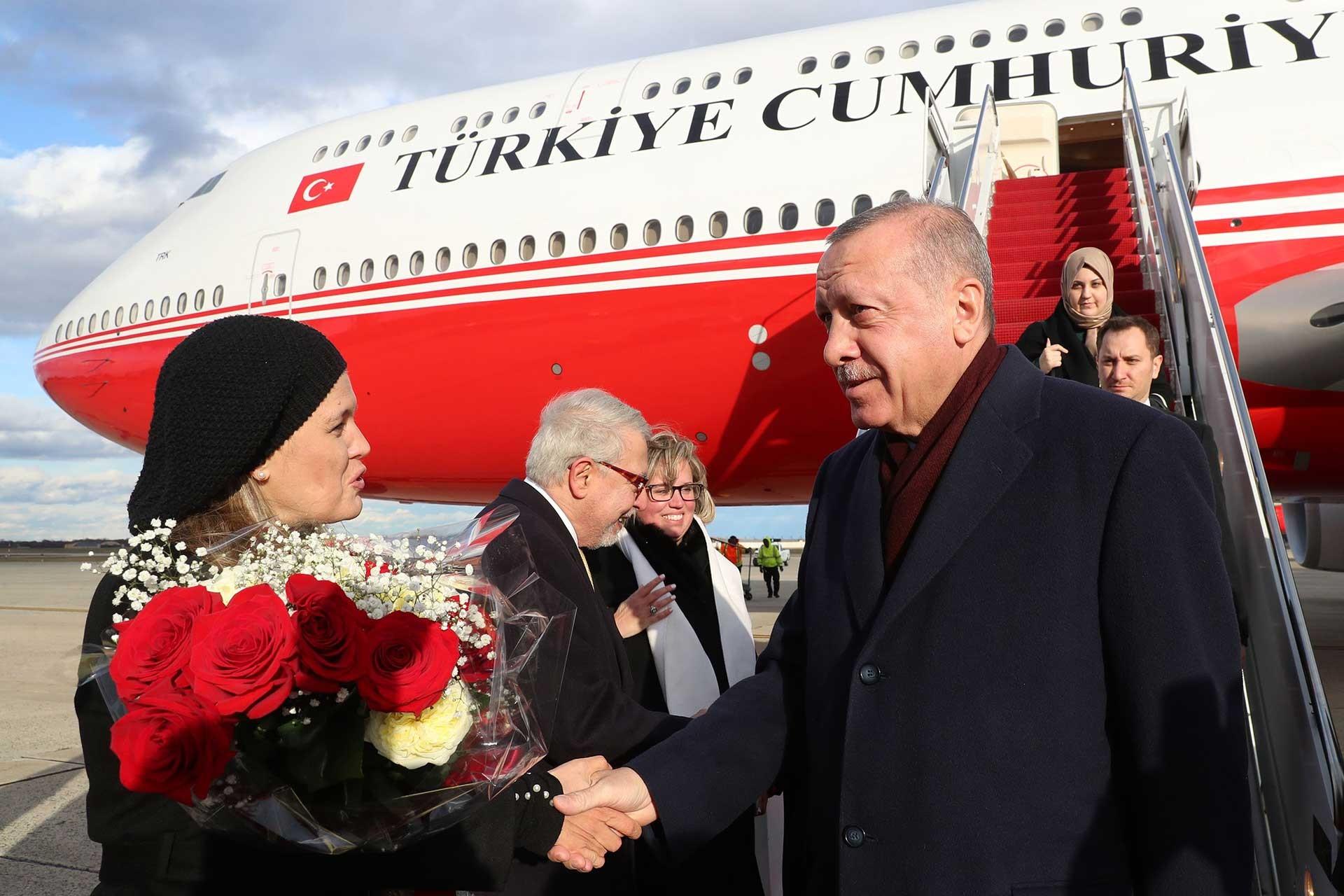 Cumhurbaşkanı Tayyip Efoğan ABD'de.