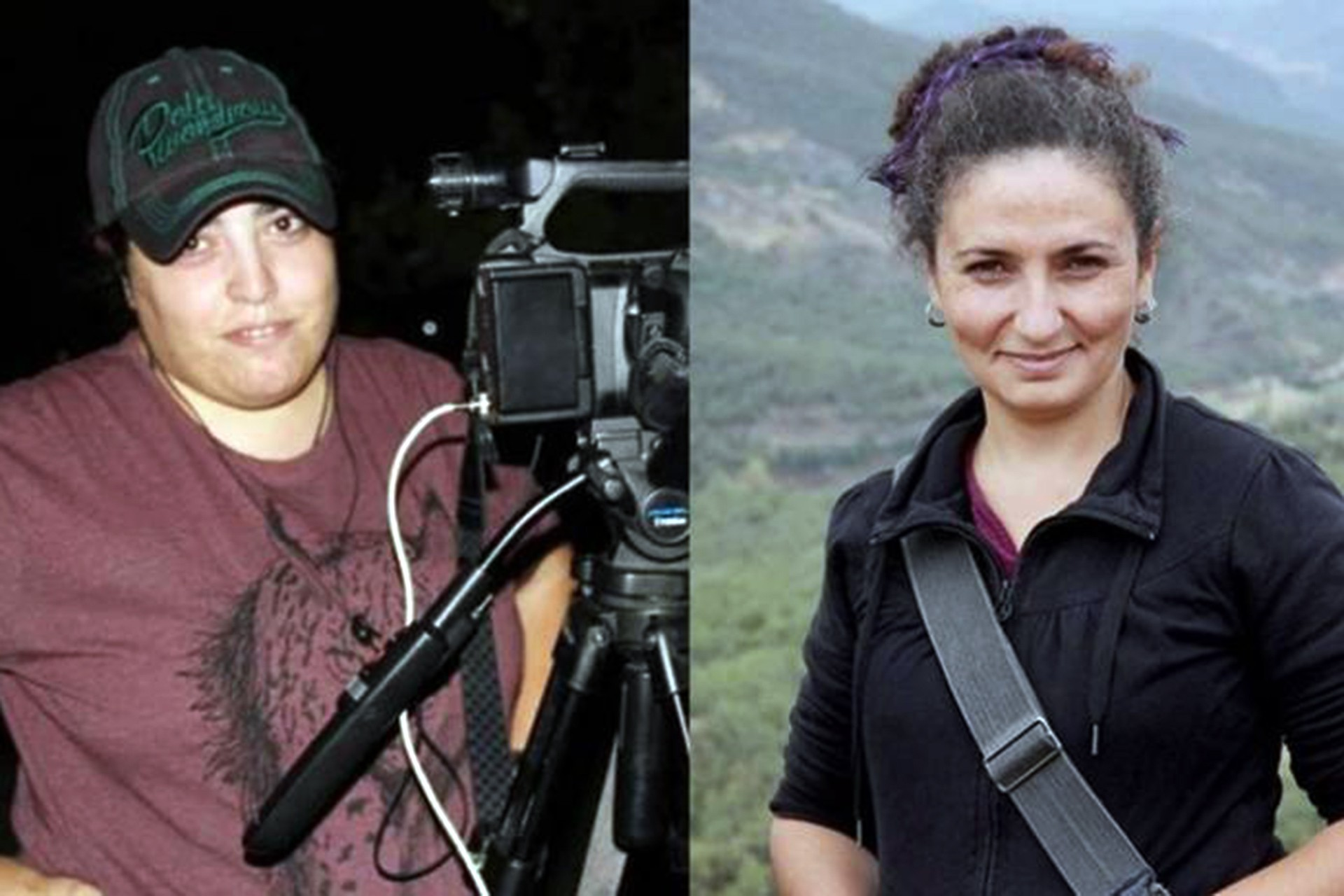 Ruken Demir (solda), Melike Aydın (sağda)