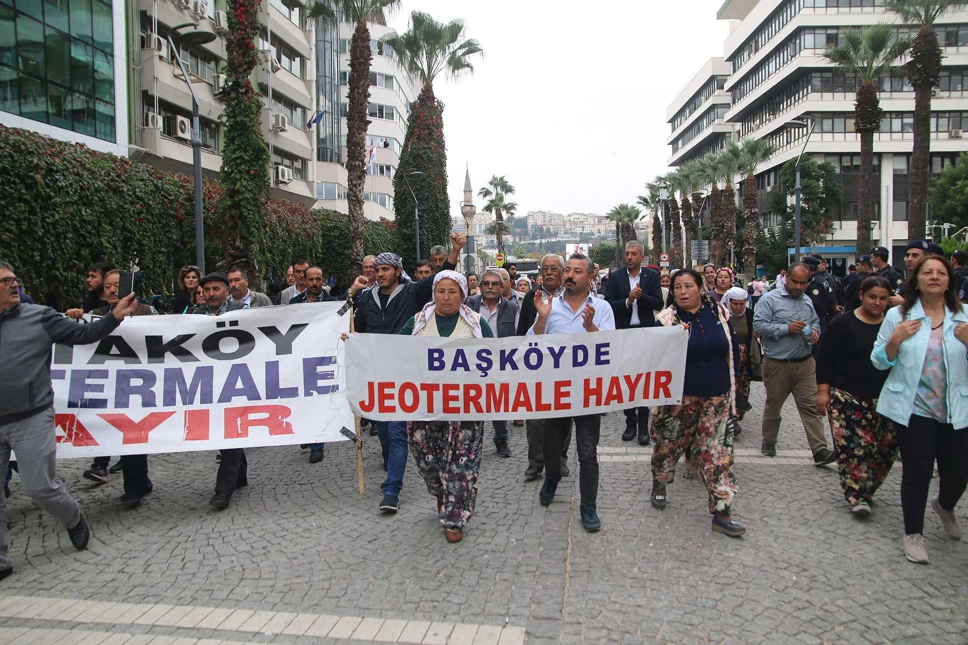 İzmir'de JES karşıtları eylem yapıyor