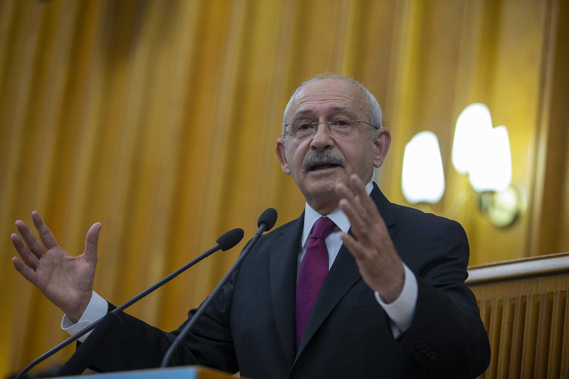 Kemal Kılıçdaroğlu CHP Grup toplantısında konuşuyor