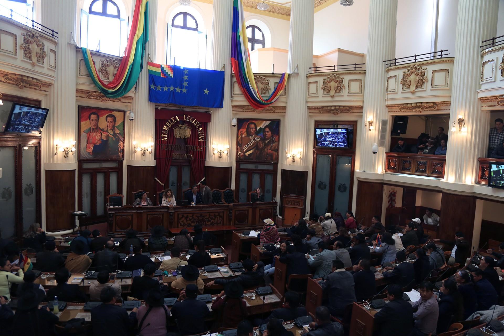 Bolivya'da Çokuluslu Yasama Meclisinin alt kanadı Milletvekilleri Meclisi
