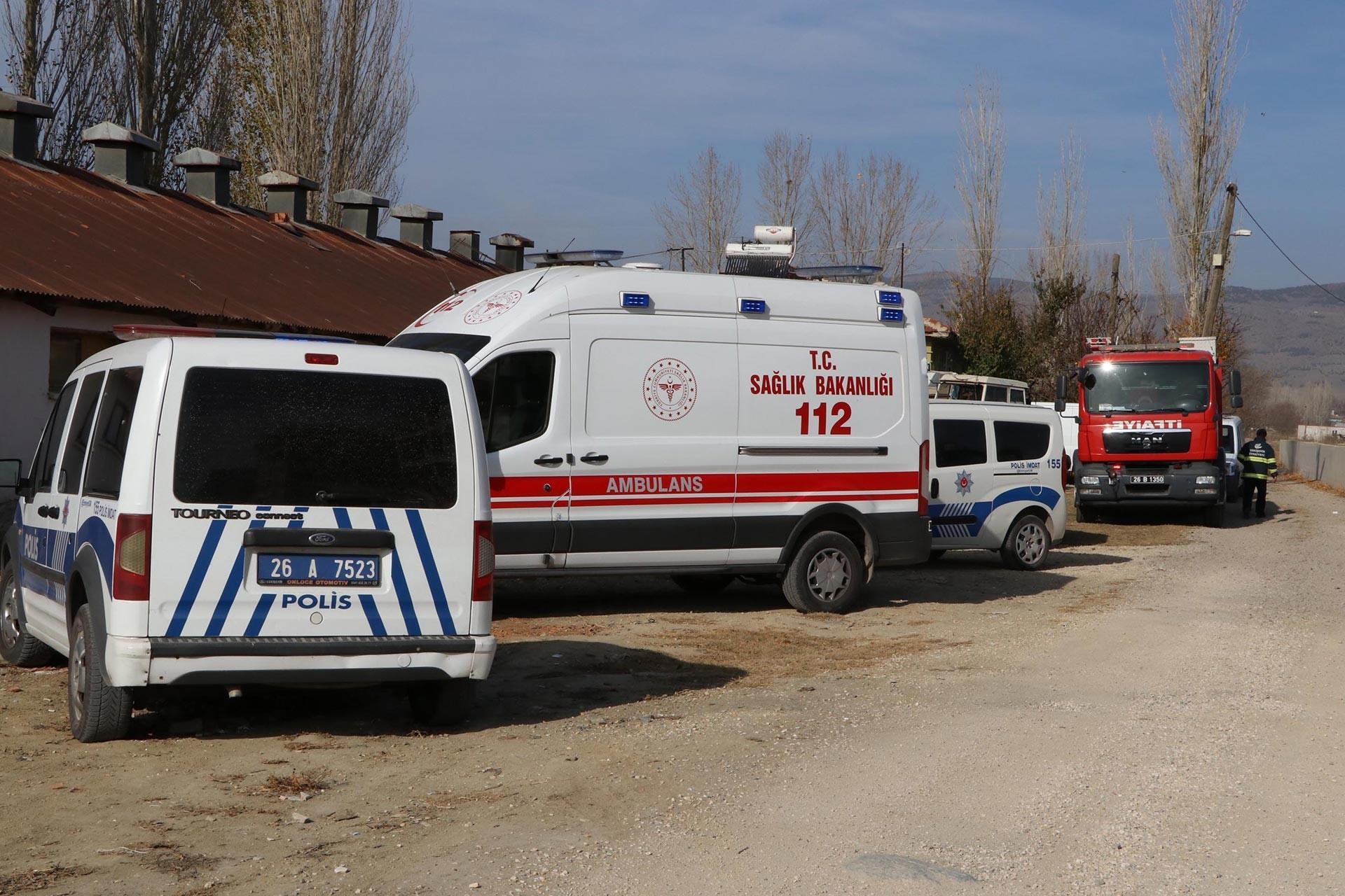Eskişehir'de iş cinayetinin yaşandığı yer
