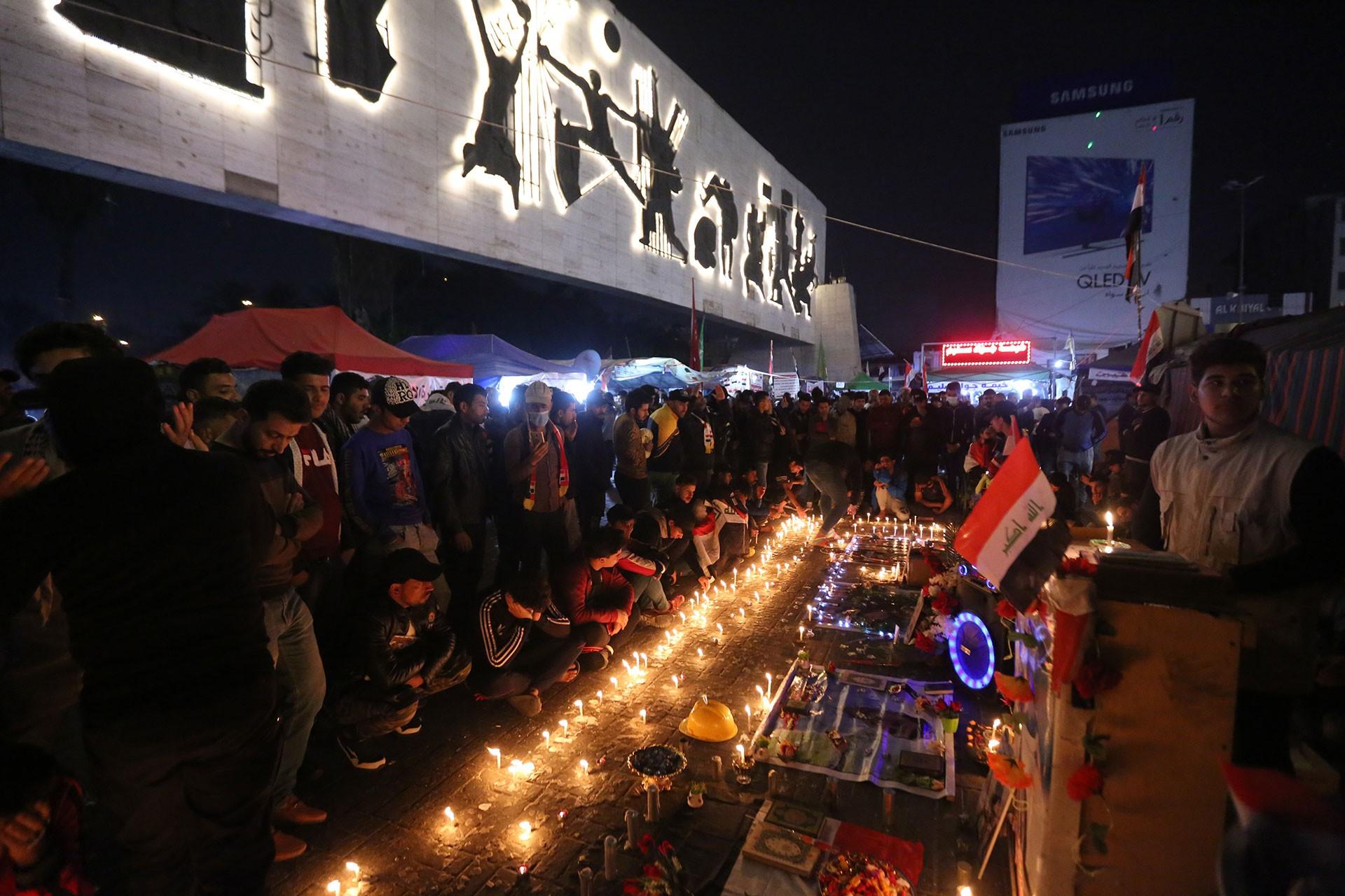 Irak'ta hayatını kaybedenler için anma töreni düzenlendi
