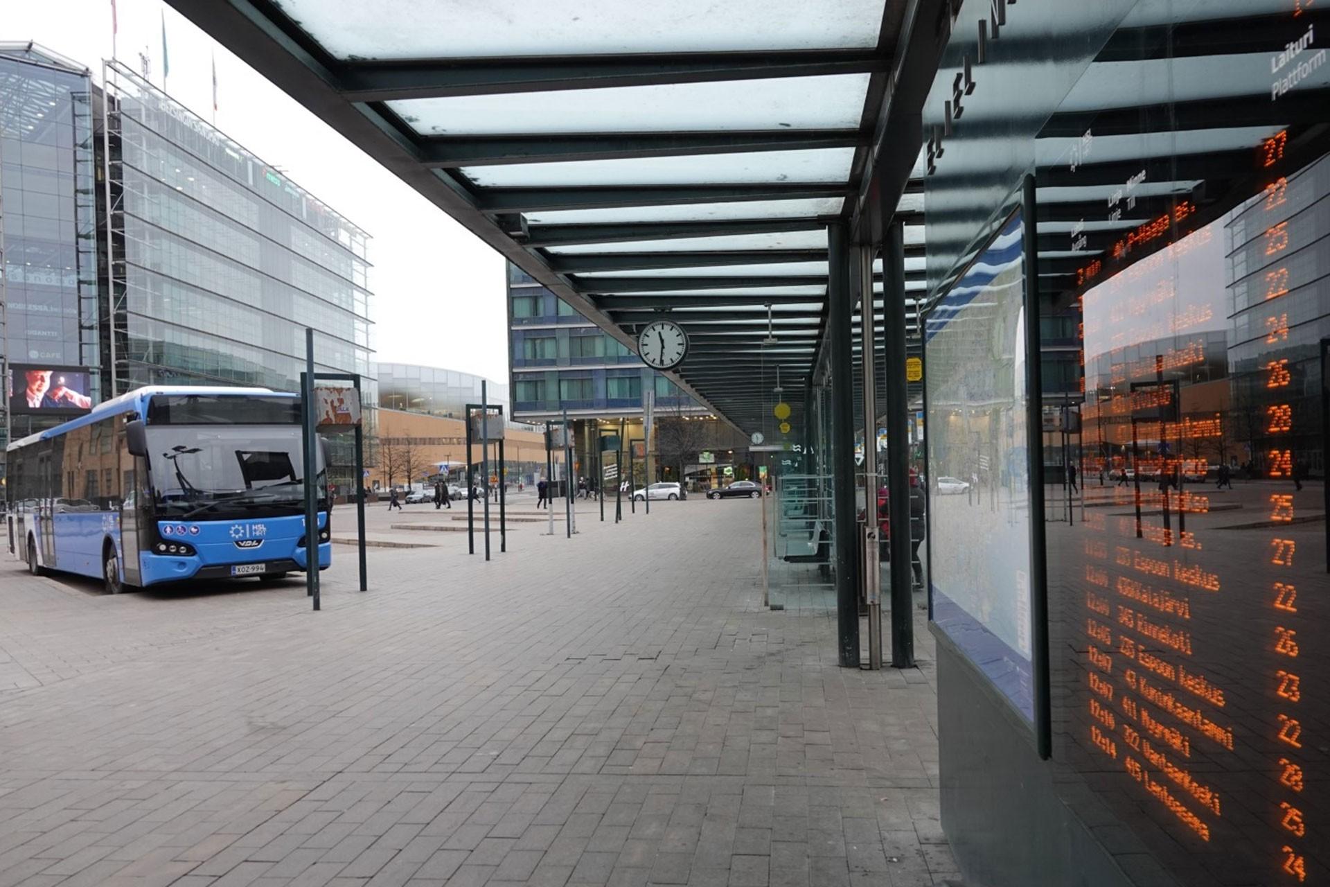 Finlandiya'da grev nedeniyle otobüs hatlarının çoğu çalışmadı.