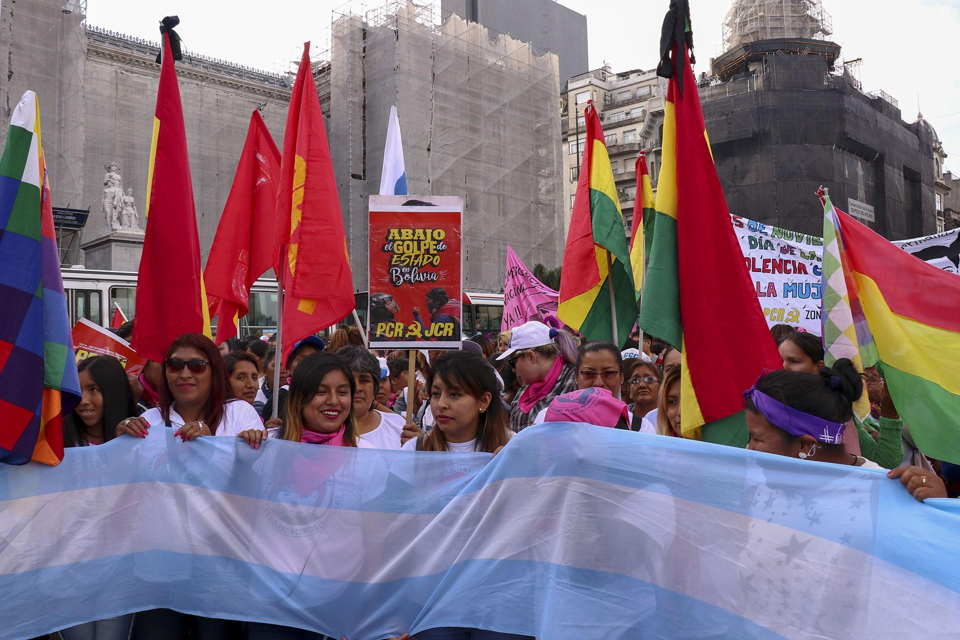 Arjantin'de 25 Kasım eylemi