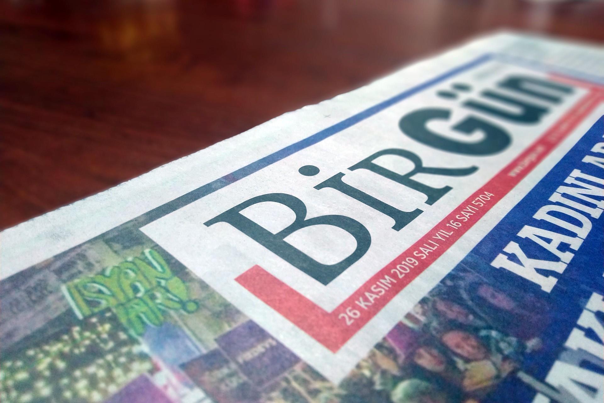 BirGün'ün 26 Kasım manşeti