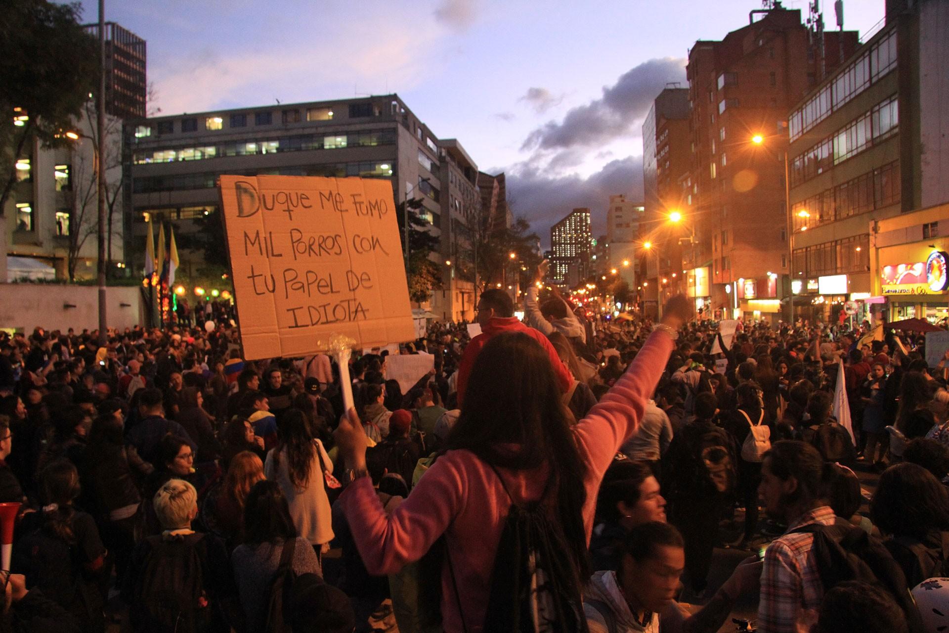Kolombiya'da protestolar sürüyor