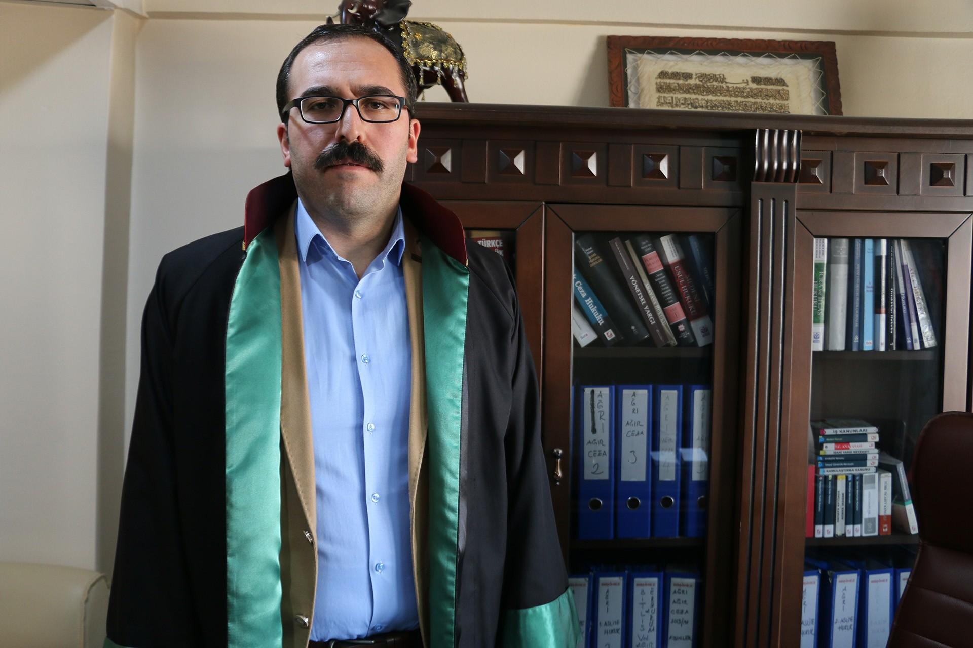 Ağrı Barosu Başkan Yardımcısı Avukat Vural Kaya