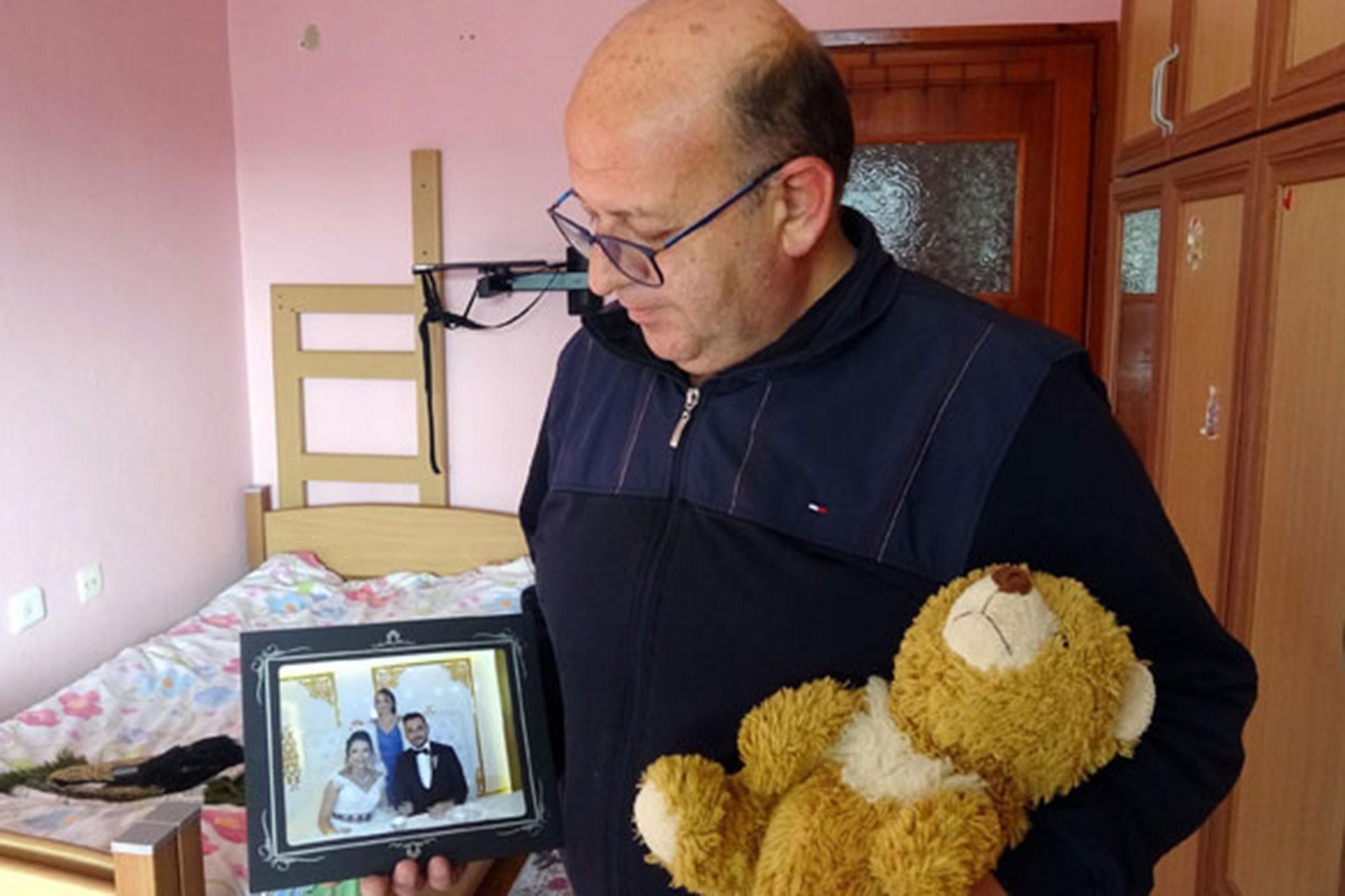 Güleda Cankel'in babası Mustafa Cankel