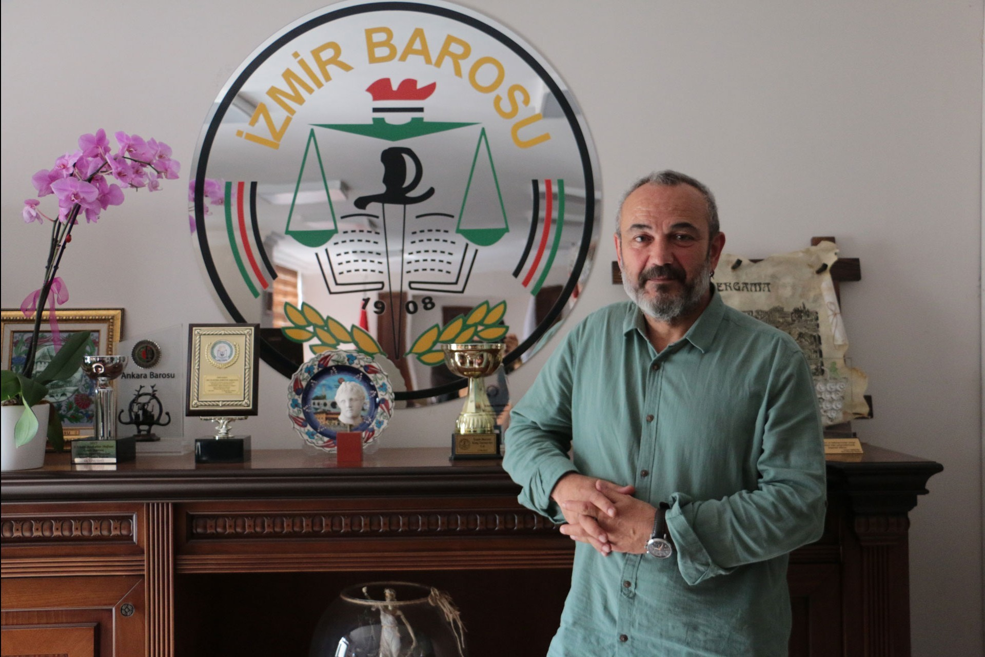 İzmir Baro Başkanı Özkan Yücel