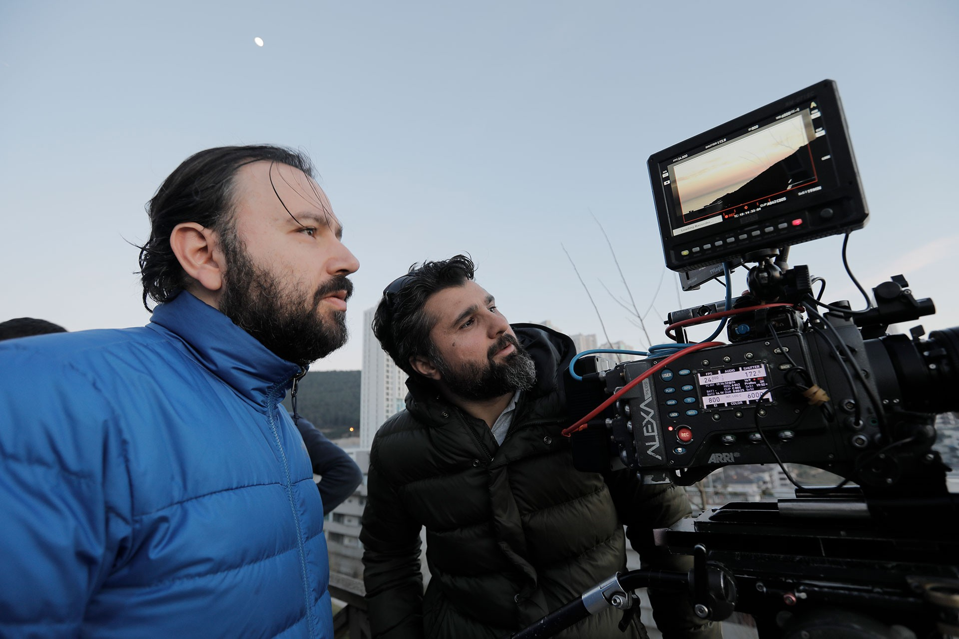 Yönetmen Kıvanç Sezer.