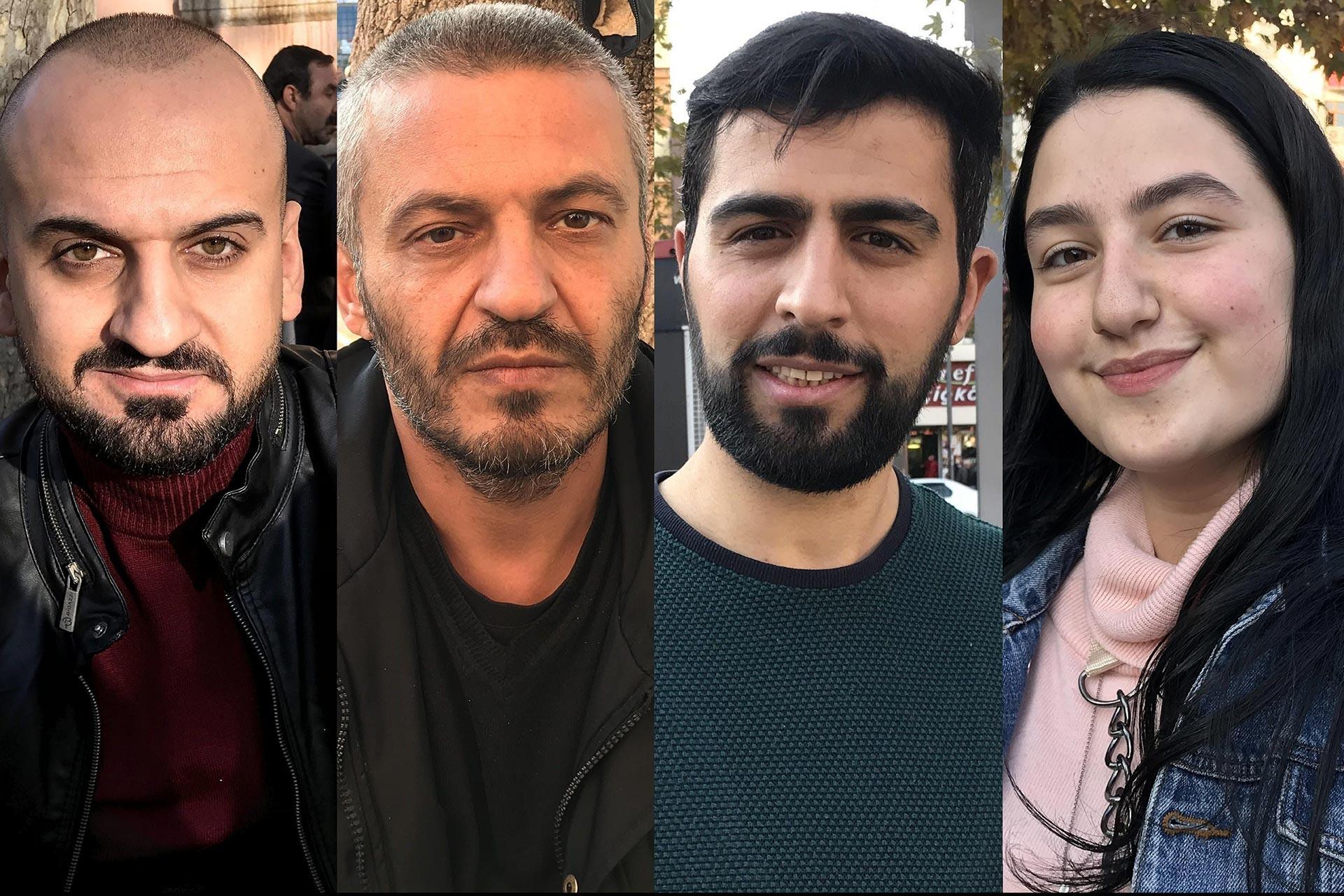 Yılmaz Yıldızhan, Şahin Doğan, Yakup Oruç, Aleyna Haznedar