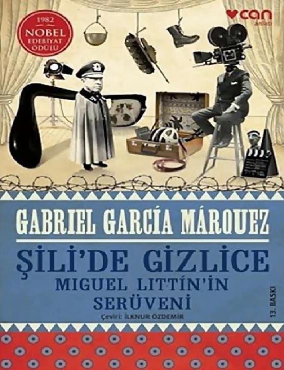 'Şili'de Gizlice' adlı kitabın kapağı