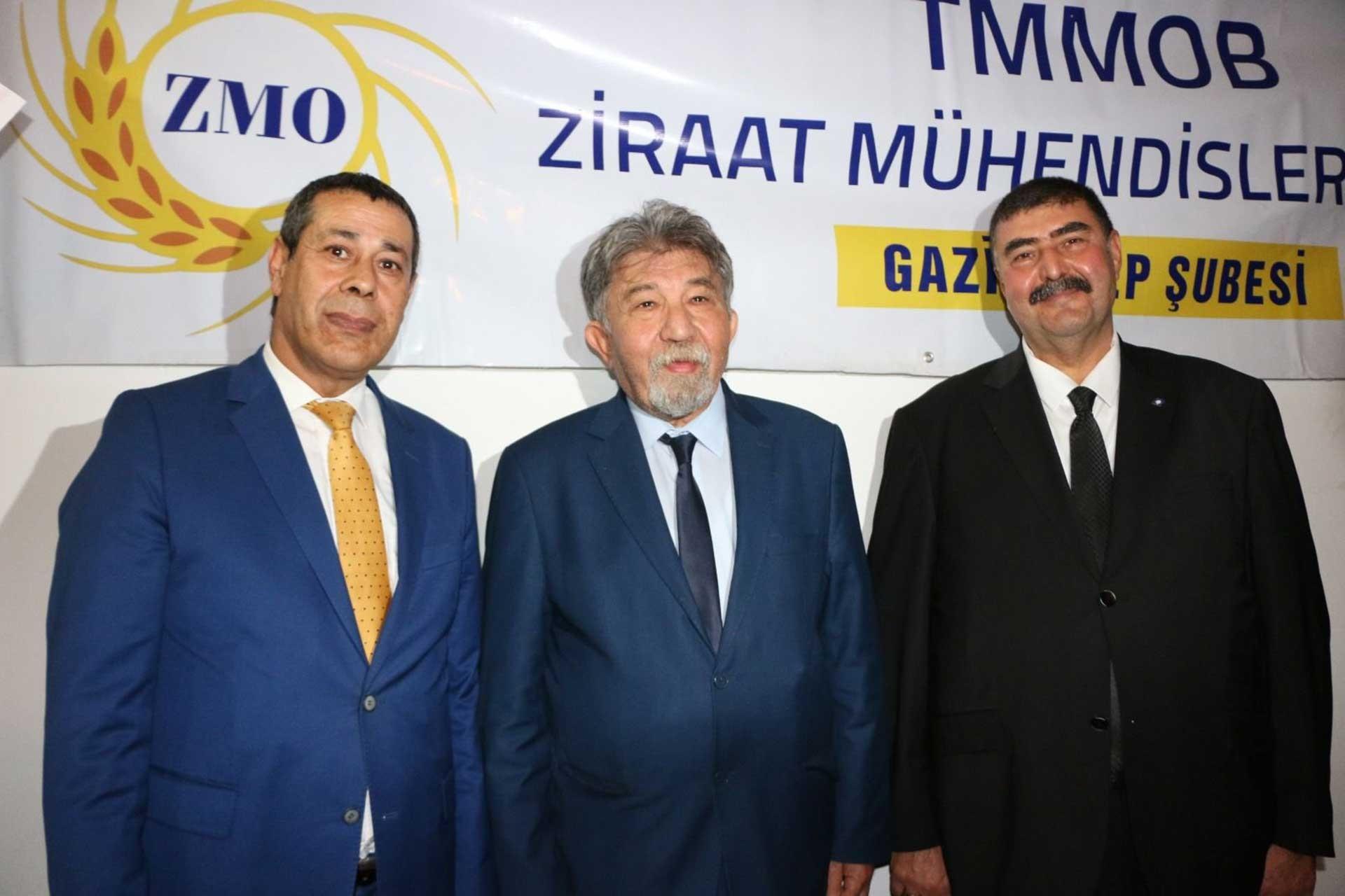 TMMOB Ziraat Mühendisleri Odası Gaziantep Şubesi yeni hizmet binası açıldı.