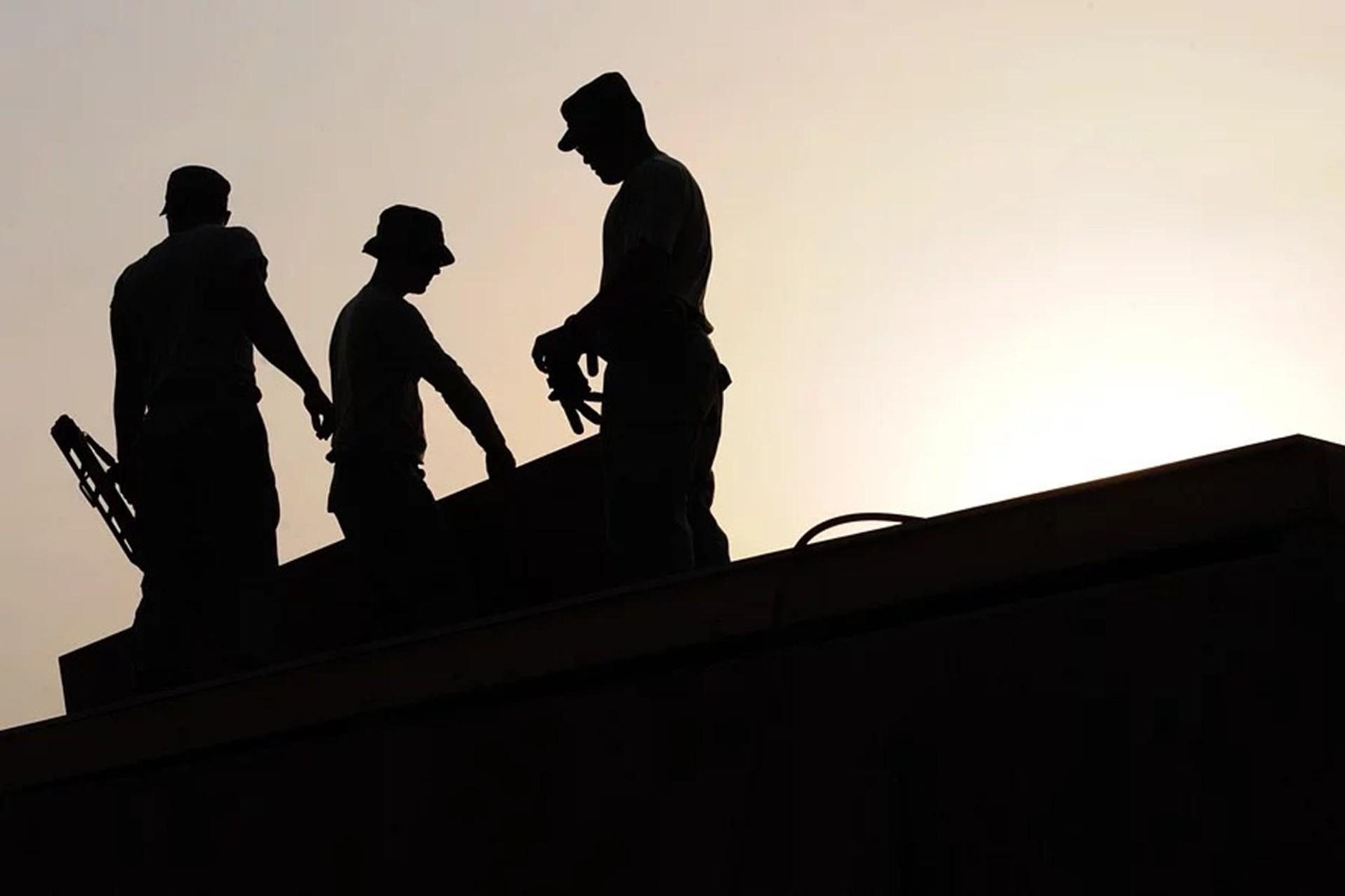 Çalışan işçiler