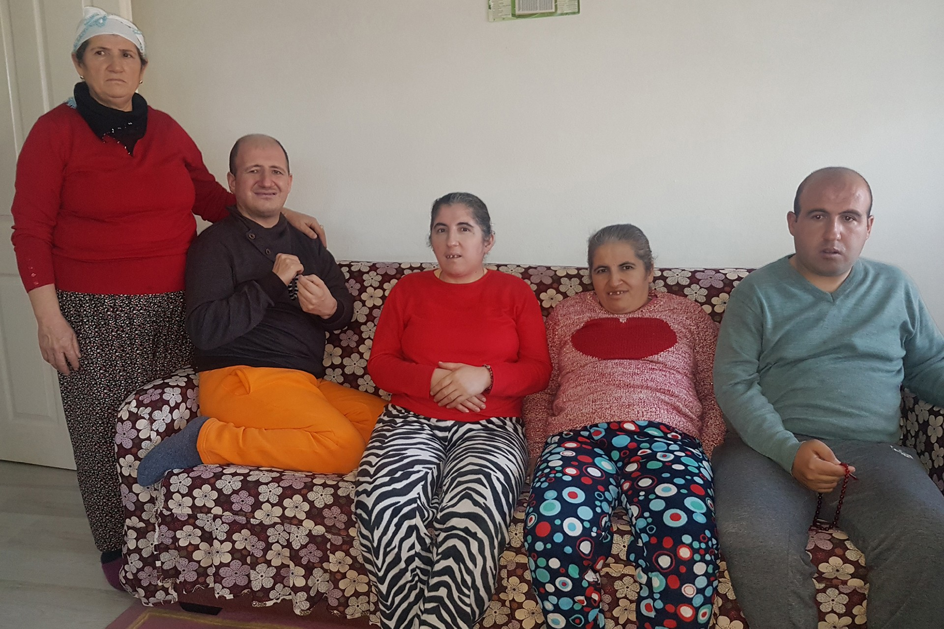 Hani Uğurlu ve 4 çocuğu