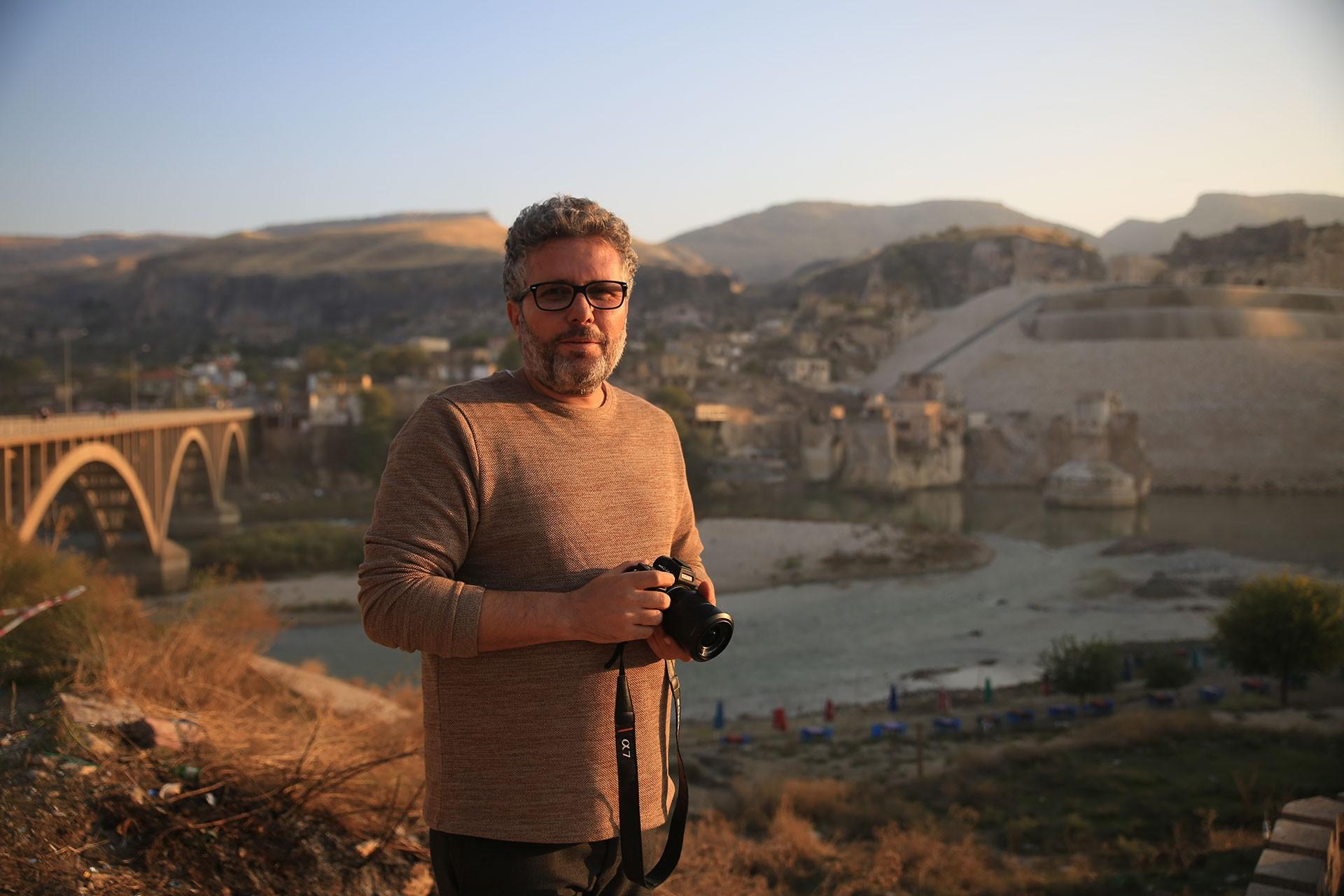Hasankeyf Yaşatma Girişimi temsilcilerinden Ali Ergül.