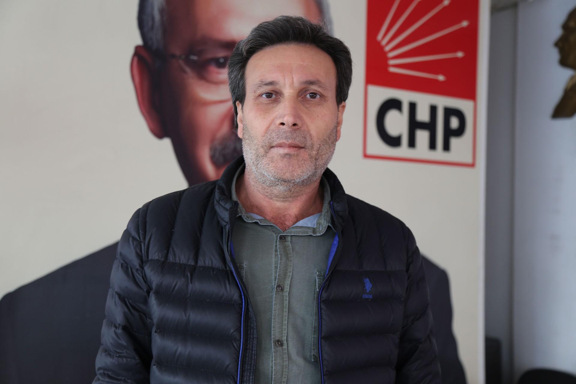 CHP Nizip İlçe Başkanı Haluk Kahraman