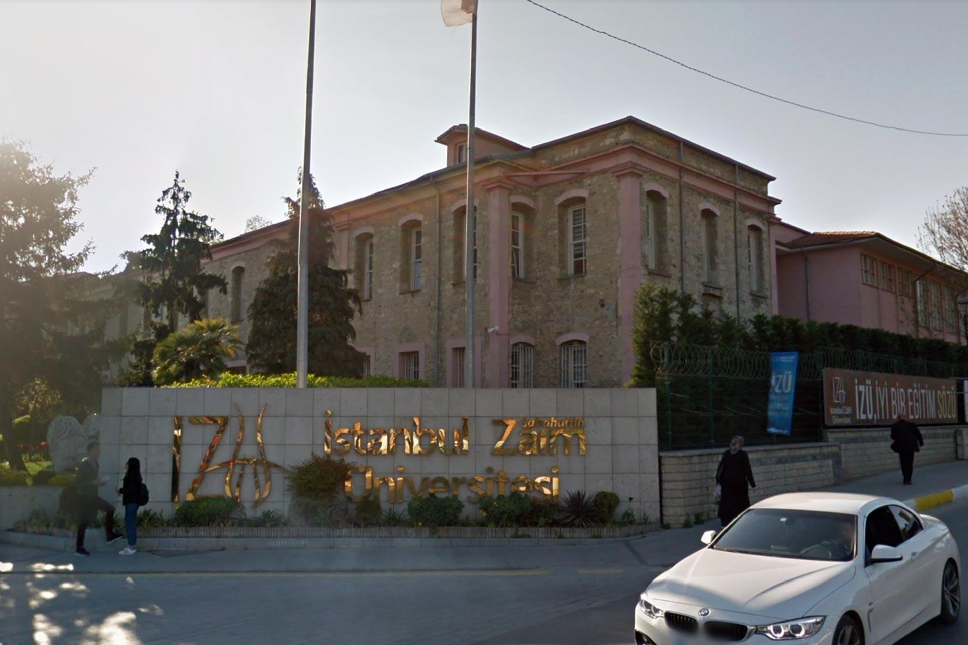İstanbul Sabahattin Zaim Üniversitesi binası