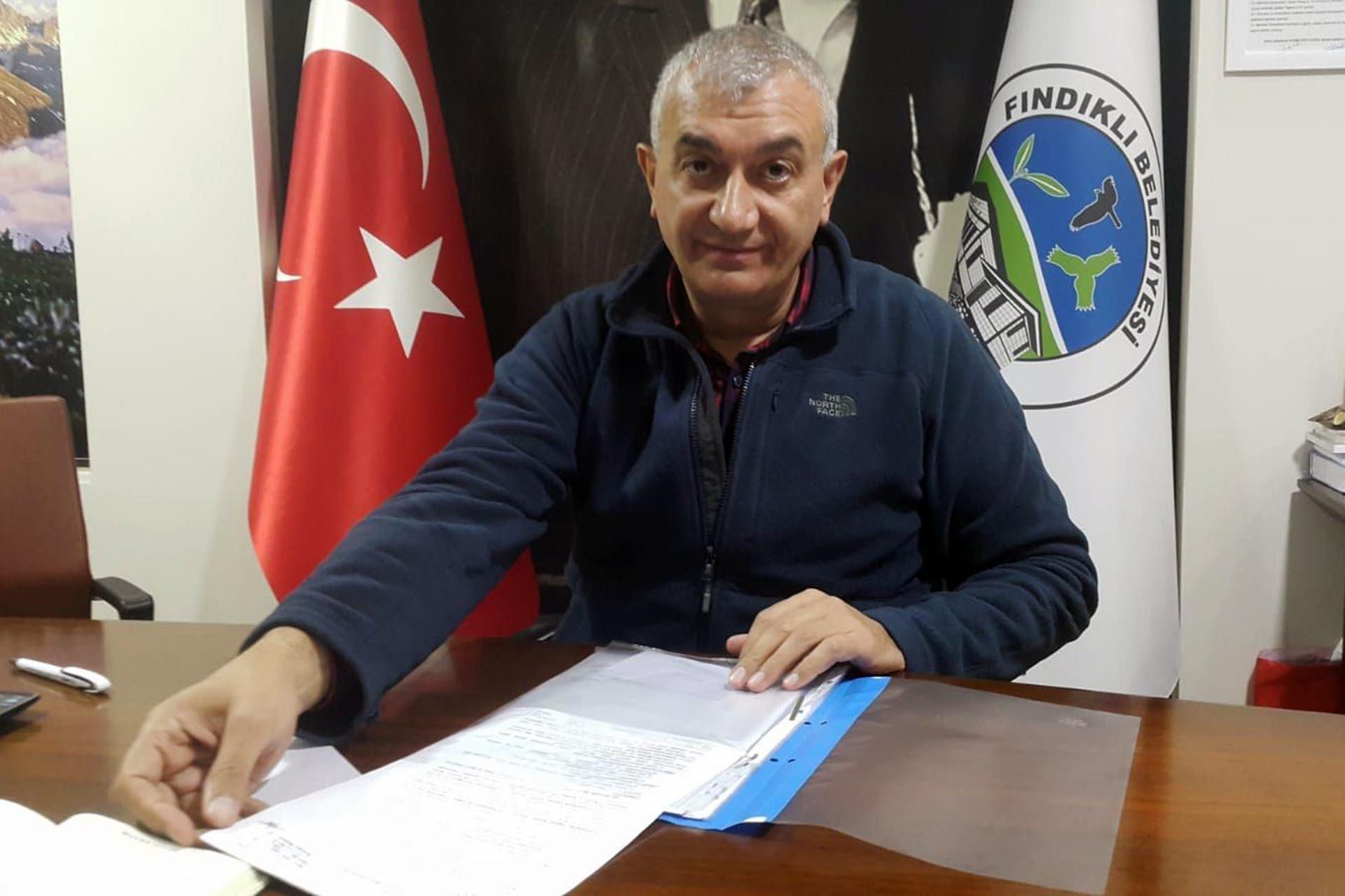 Fındıklı Belediye Başkanı Ercüment Çevratoğlu