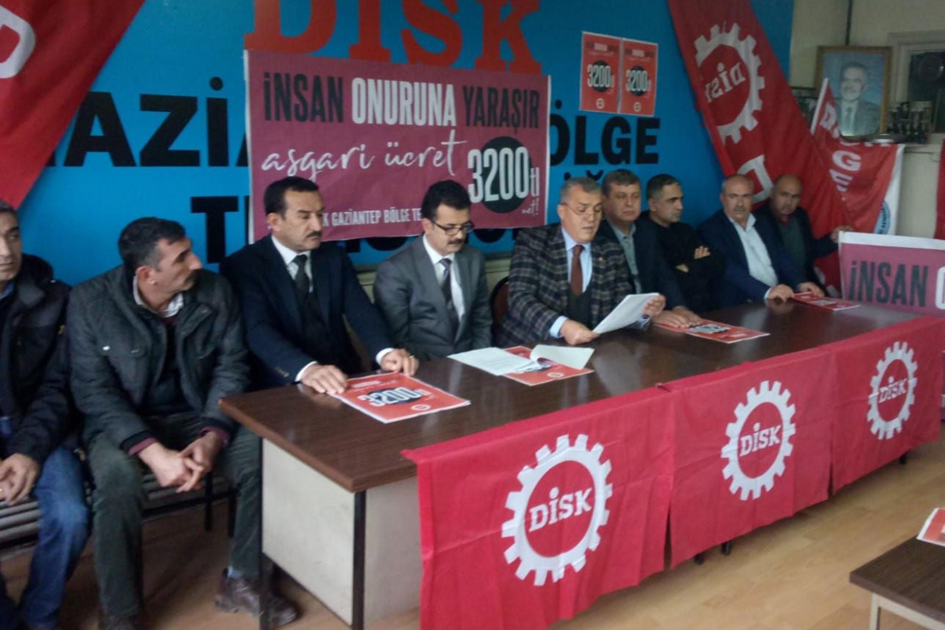 DİSK Gaziantep Bölge Temsilciliği