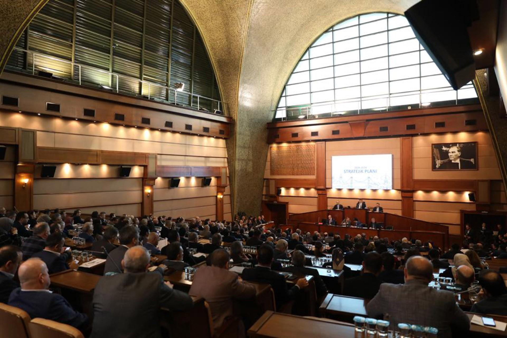 İBB meclis toplantısı
