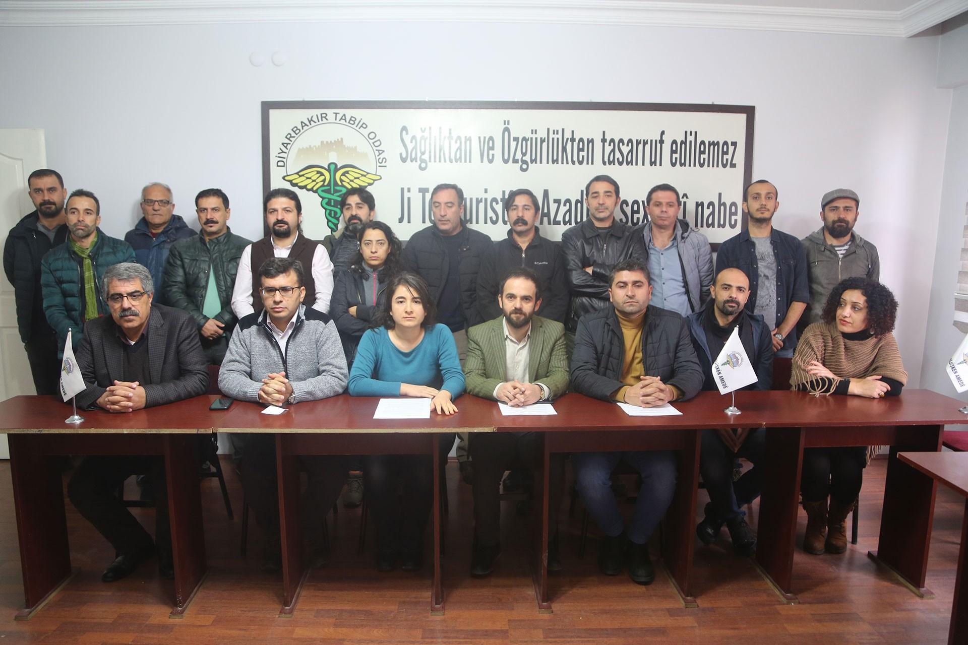 Diyarbakır Emek Demokrasi Platformu üyeleri