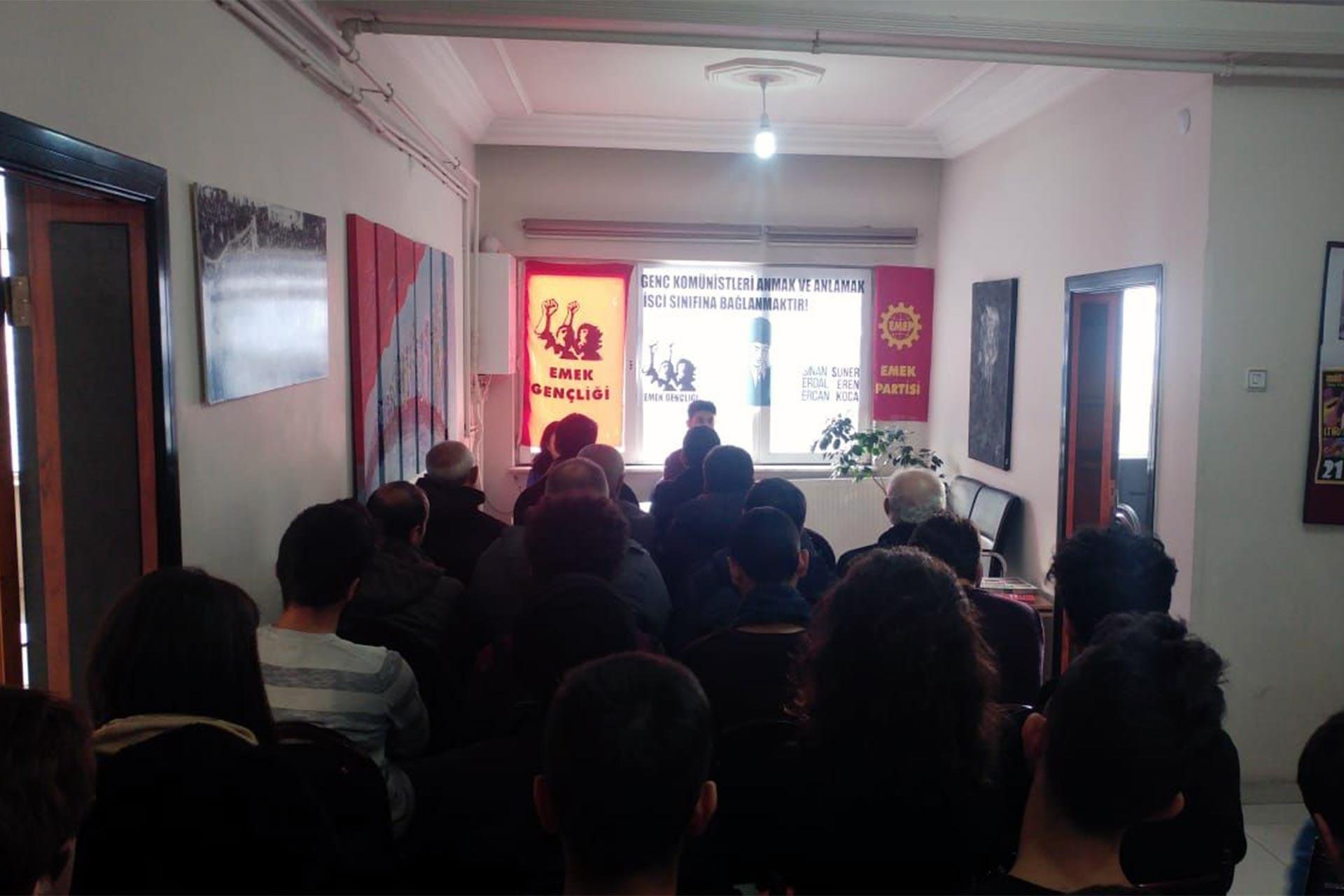 Kayseri'de düzenlenen Erdal Eren paneli