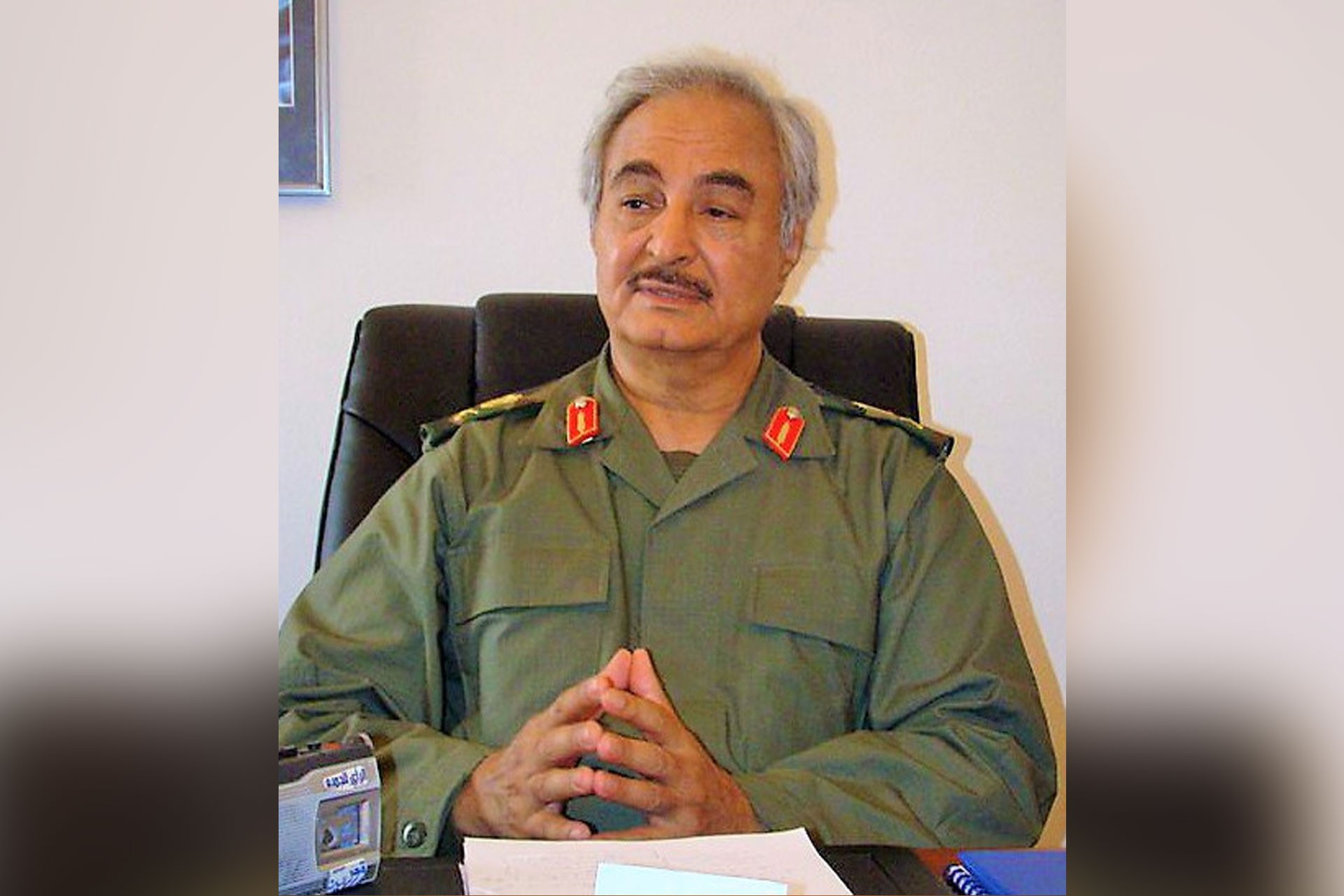 Libyalı General Halife Hafter