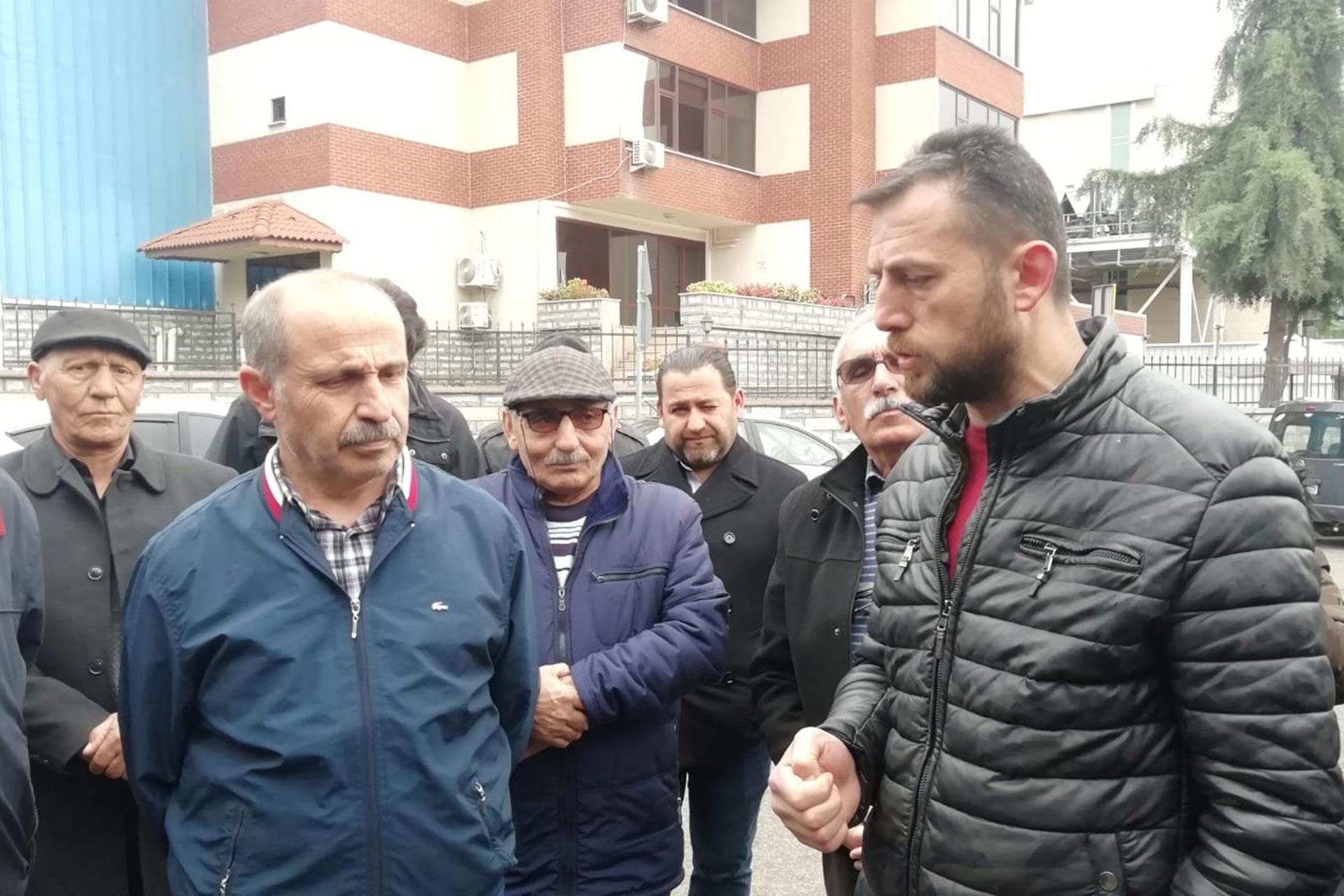 Emek Partisi Gebze İlçe Örgütü'nün grevdeki Trelleborg işçilerini ziyareti