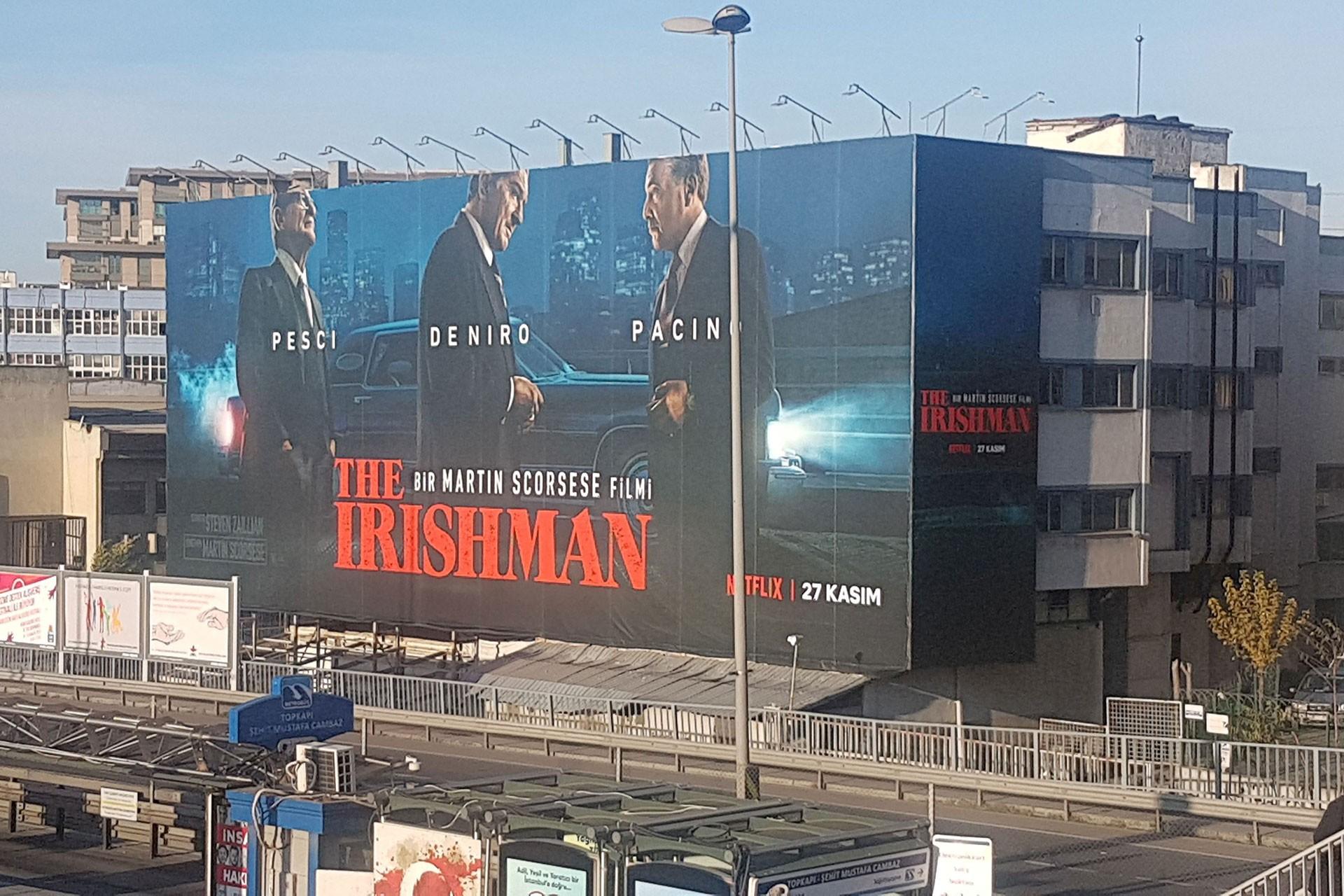 The Irishman  filminin afişi