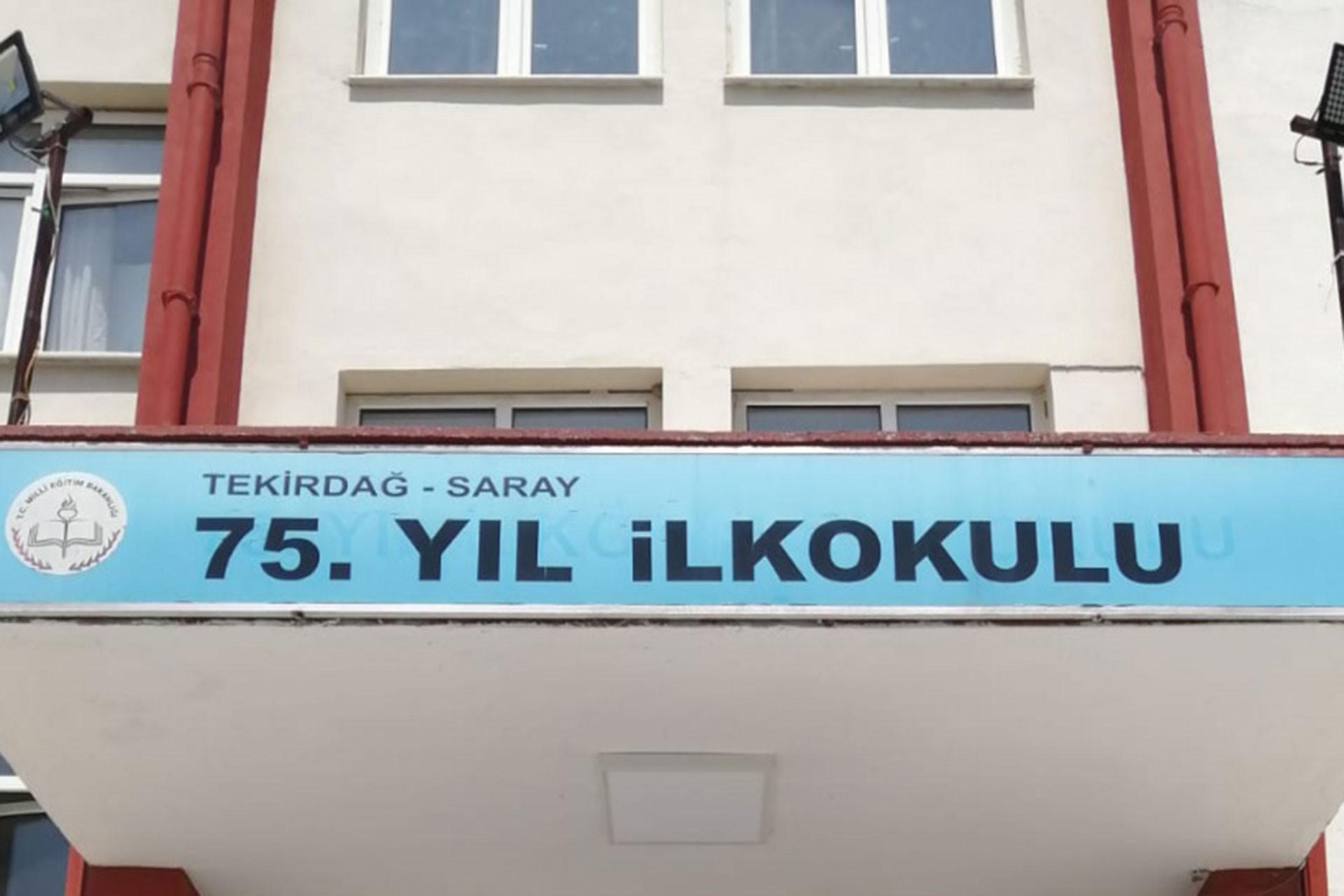 Tekirdağ - Saray 75. Yıl İlkokulu