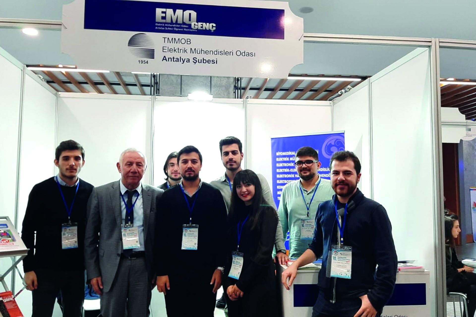 EMO Antalya Şubesi üyeleri
