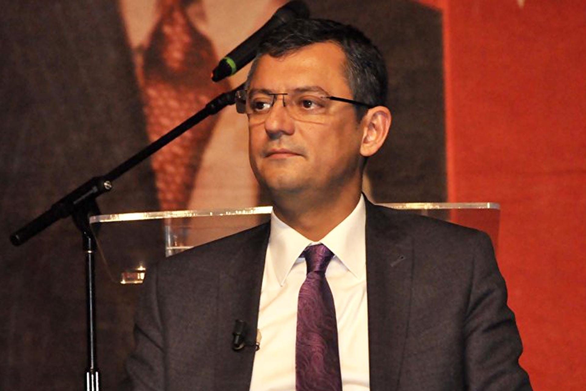 CHP Grup Başkan Vekili Özgür Özel