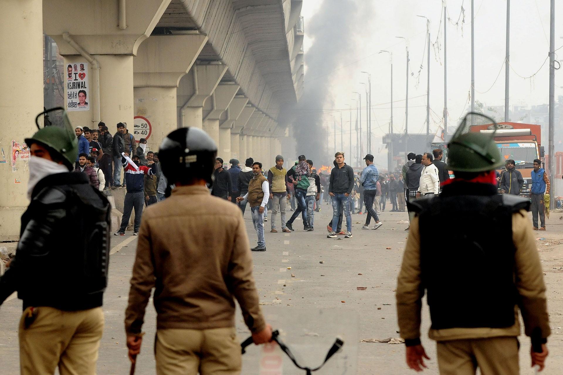 hindistan'daki protestolar