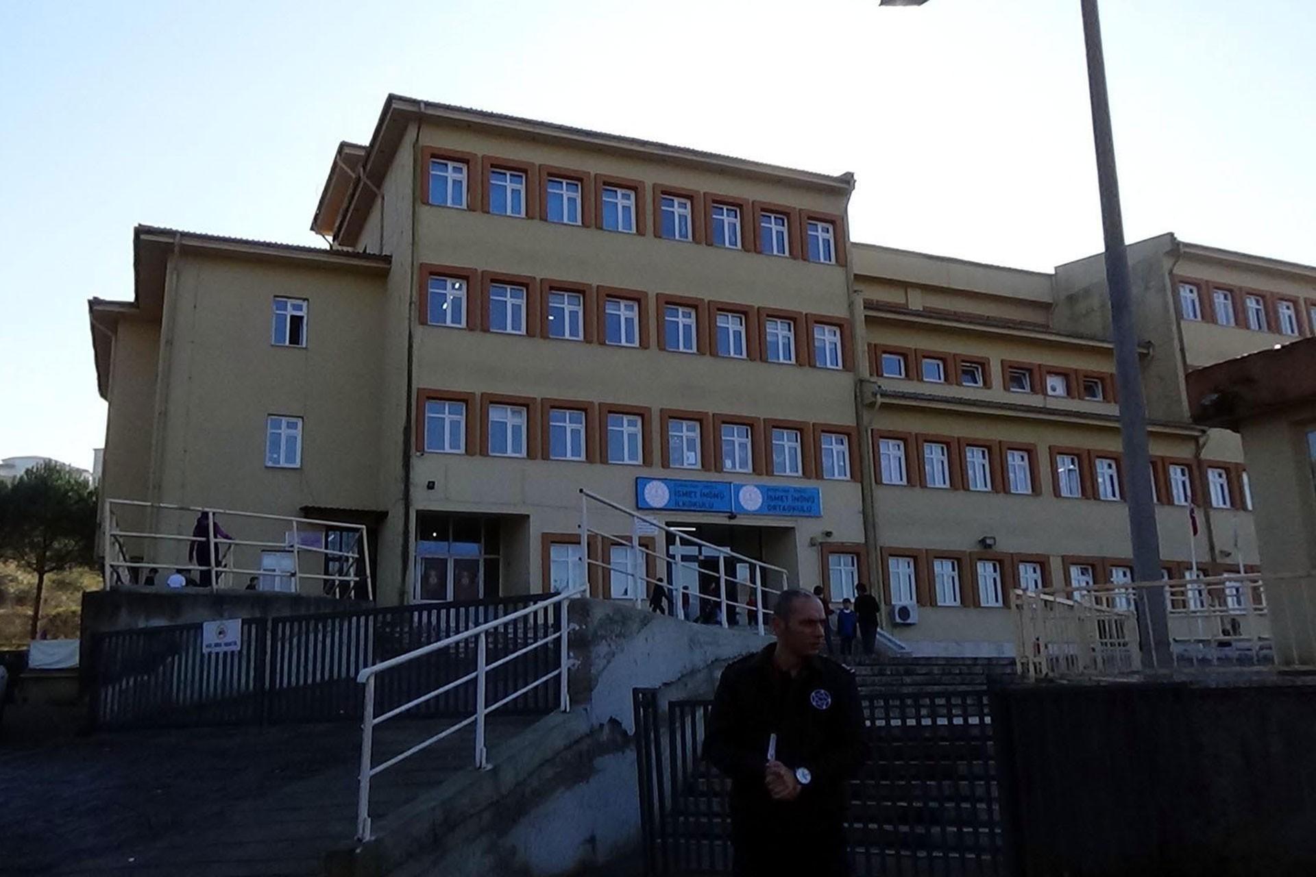 Zonguldak'taki İsmet İnönü Ortaokulu