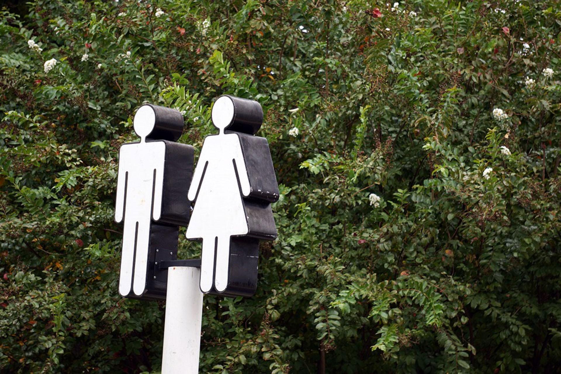 WC işareti