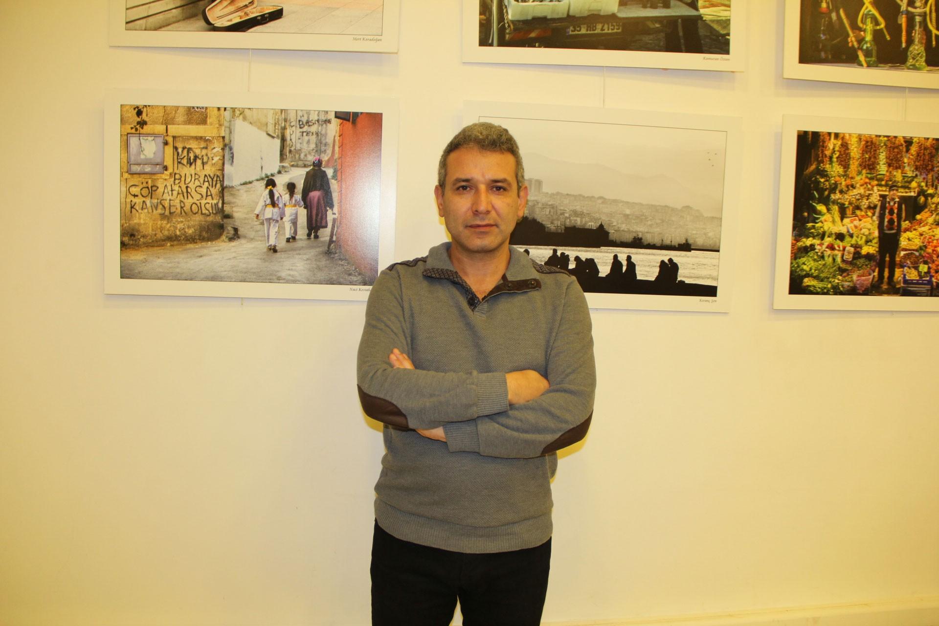 KESK İzmir Şubeler Platformu Dönem Sözcüsü ve İSİG İzmir Meclisi üyesi Mustafa Güven