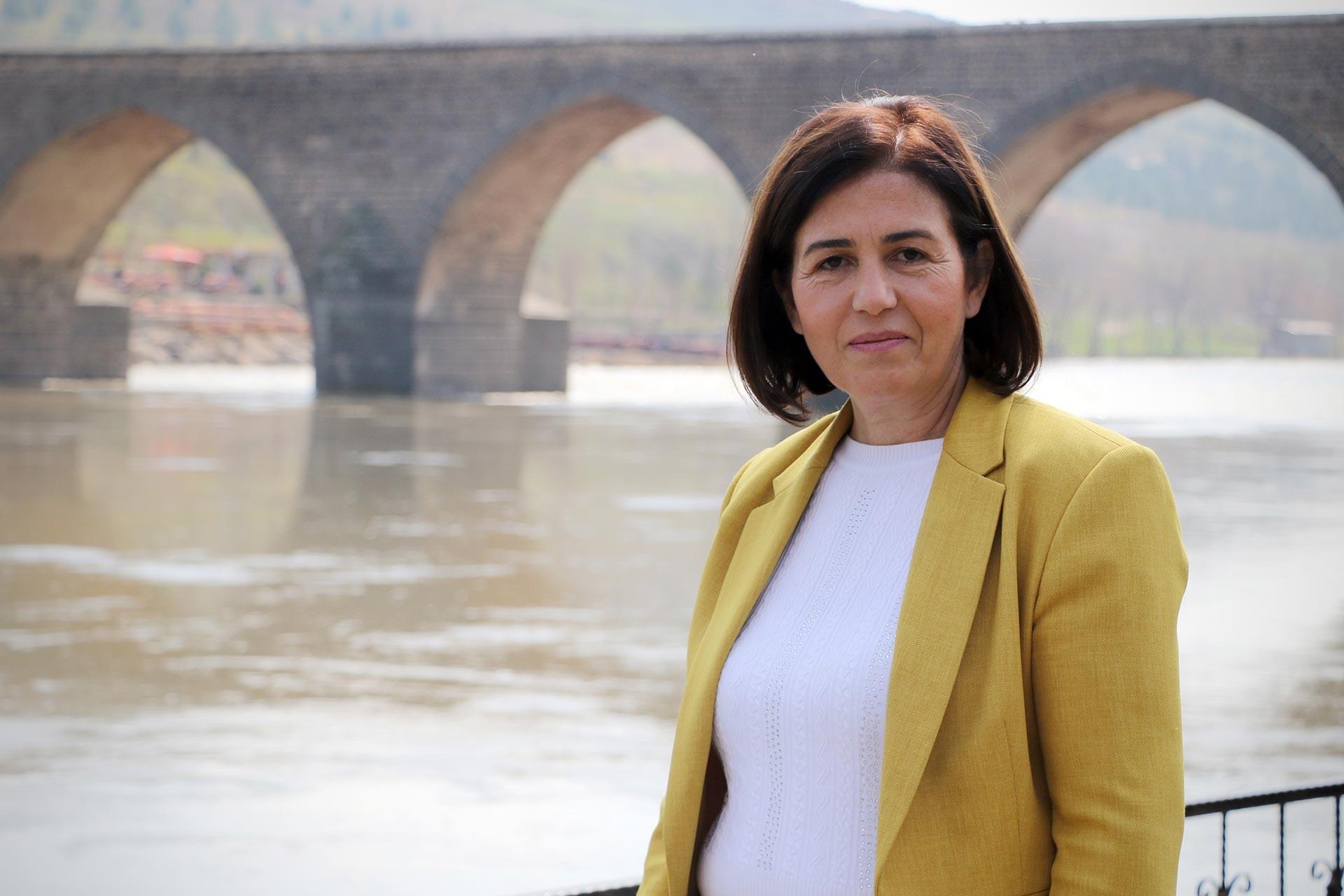 Diyarbakır Sur Belediyesi Eş Başkanı Filiz Buluttekin