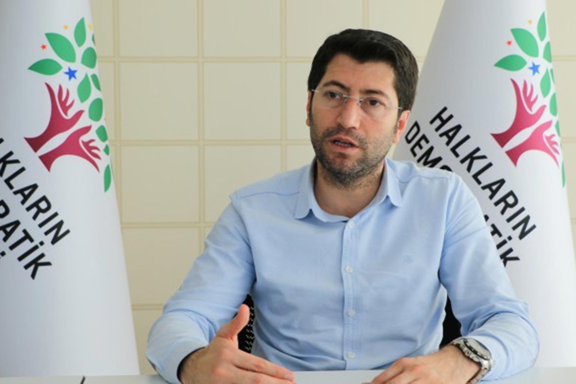 HDP Yerel Yönetimlerden Sorumlu Eş Başkan Yardımcısı Salim Kaplan