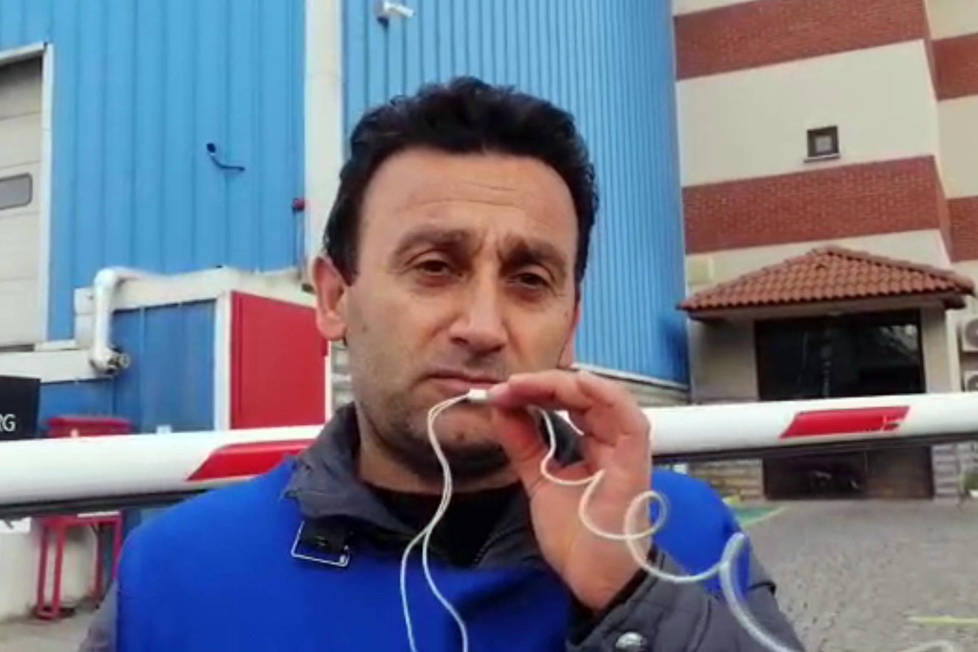 Grevdeki Trelleborg işçisi Nural Çakmak