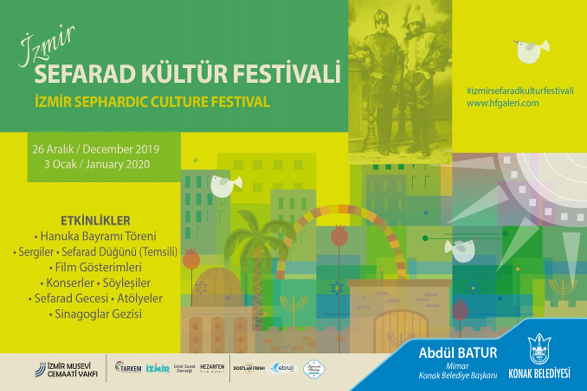 Sefarad Kültür festivalinin görseli