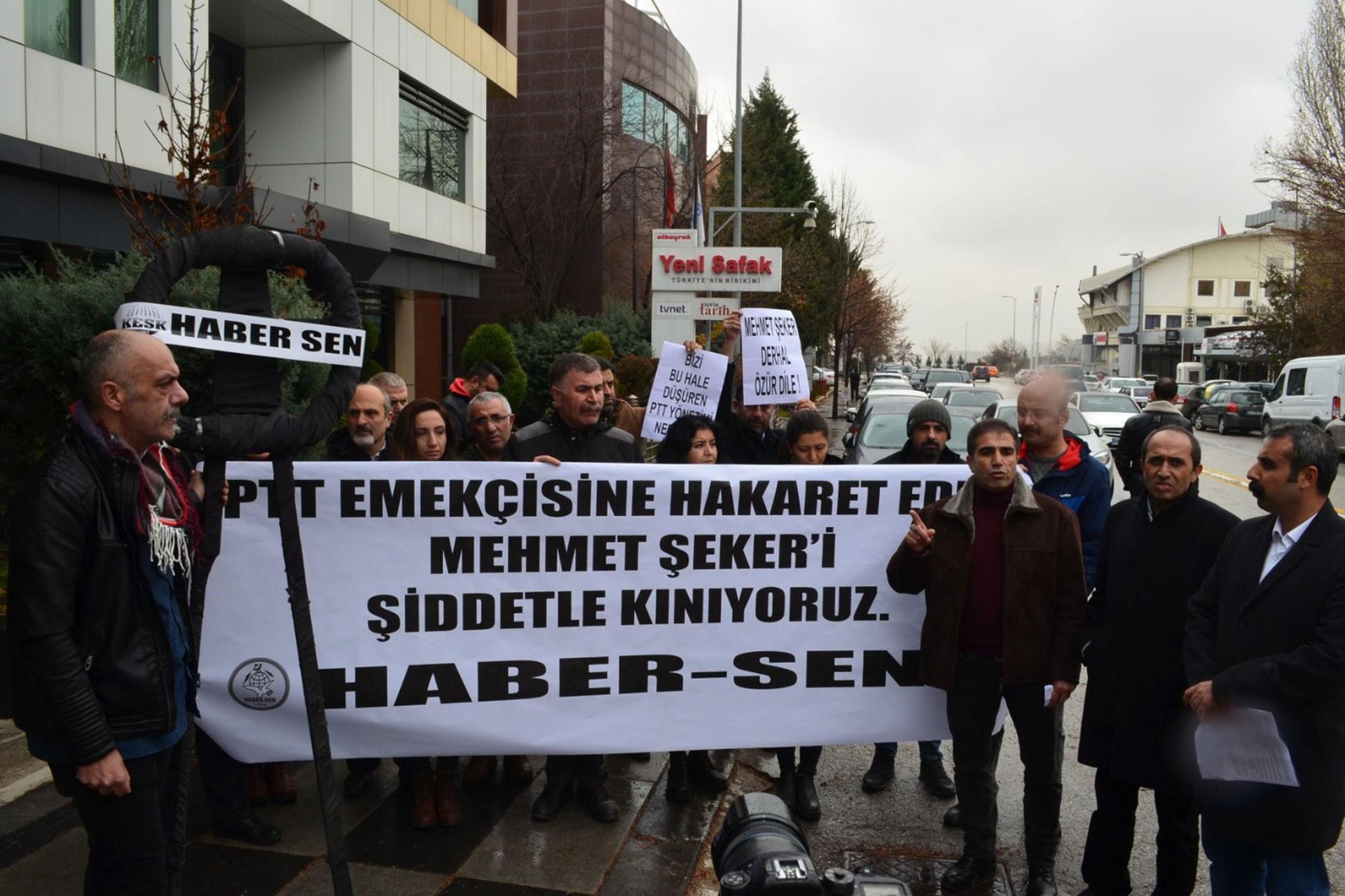 Haber Sen Ankara üyeleri