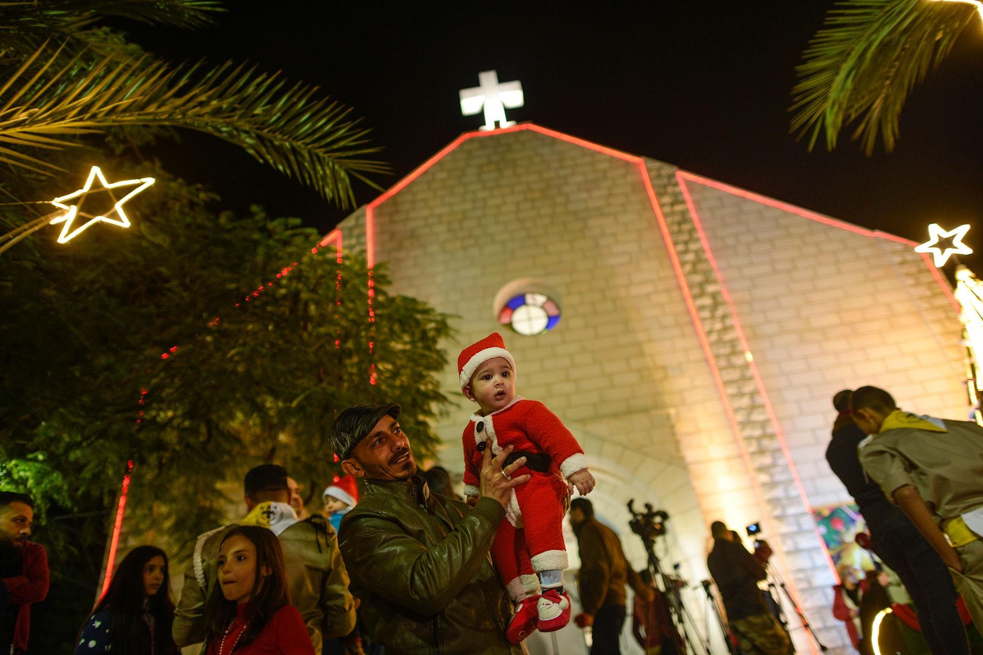 Gazze'de Noel ayini