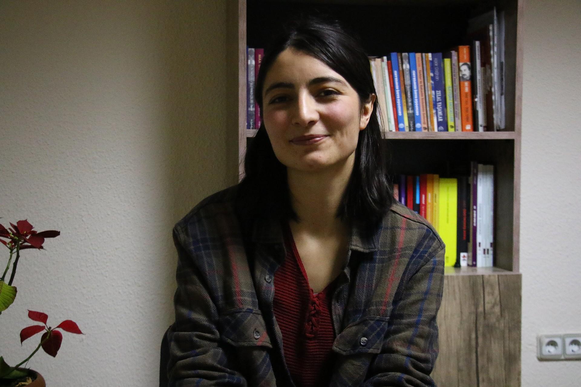 Ankara Kadın Meclisi Üyesi Mizgin Sünbül