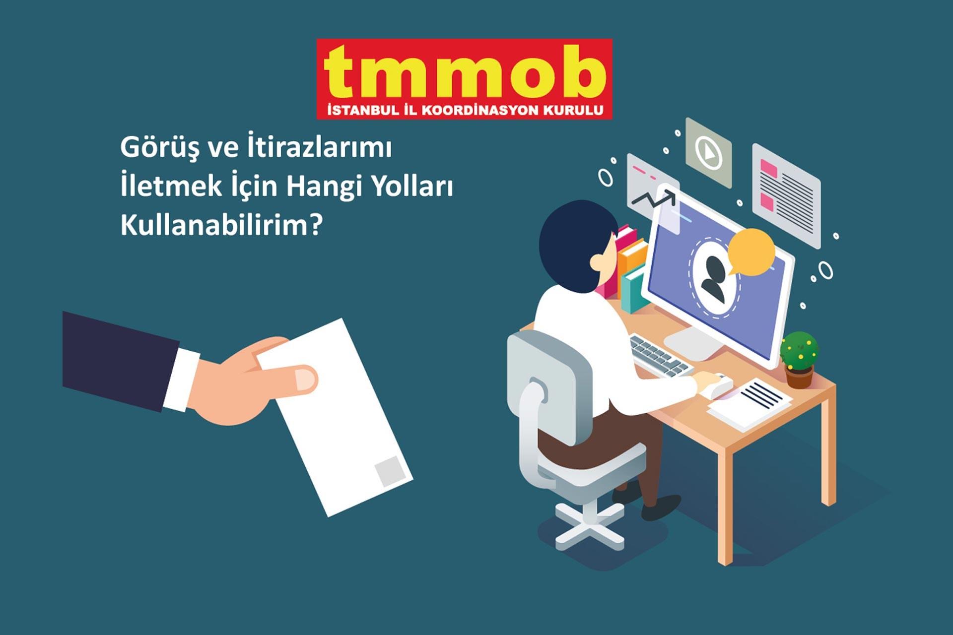 TMMOB'un hazırladığı görsel