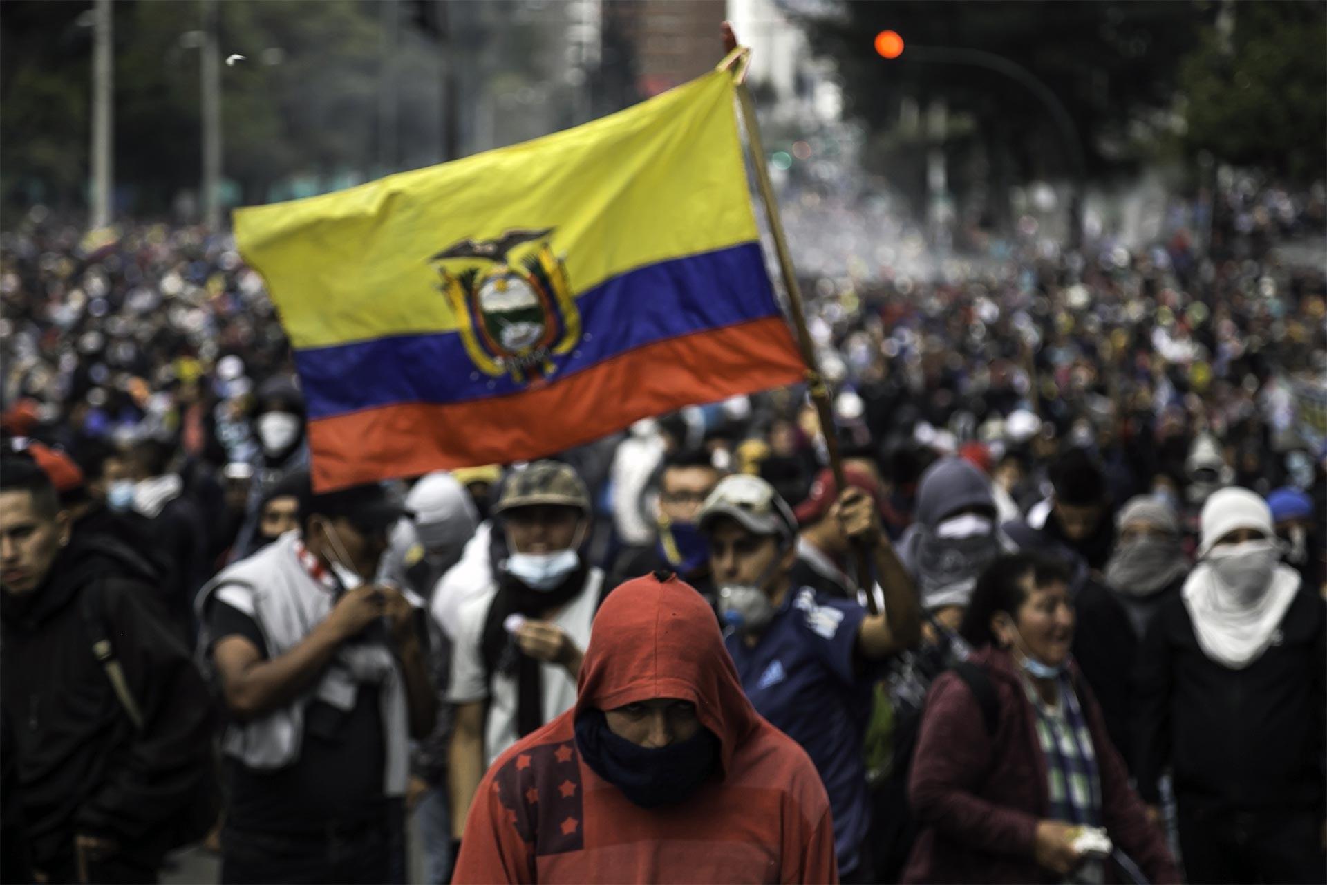 Ekvador'da halk eylemi