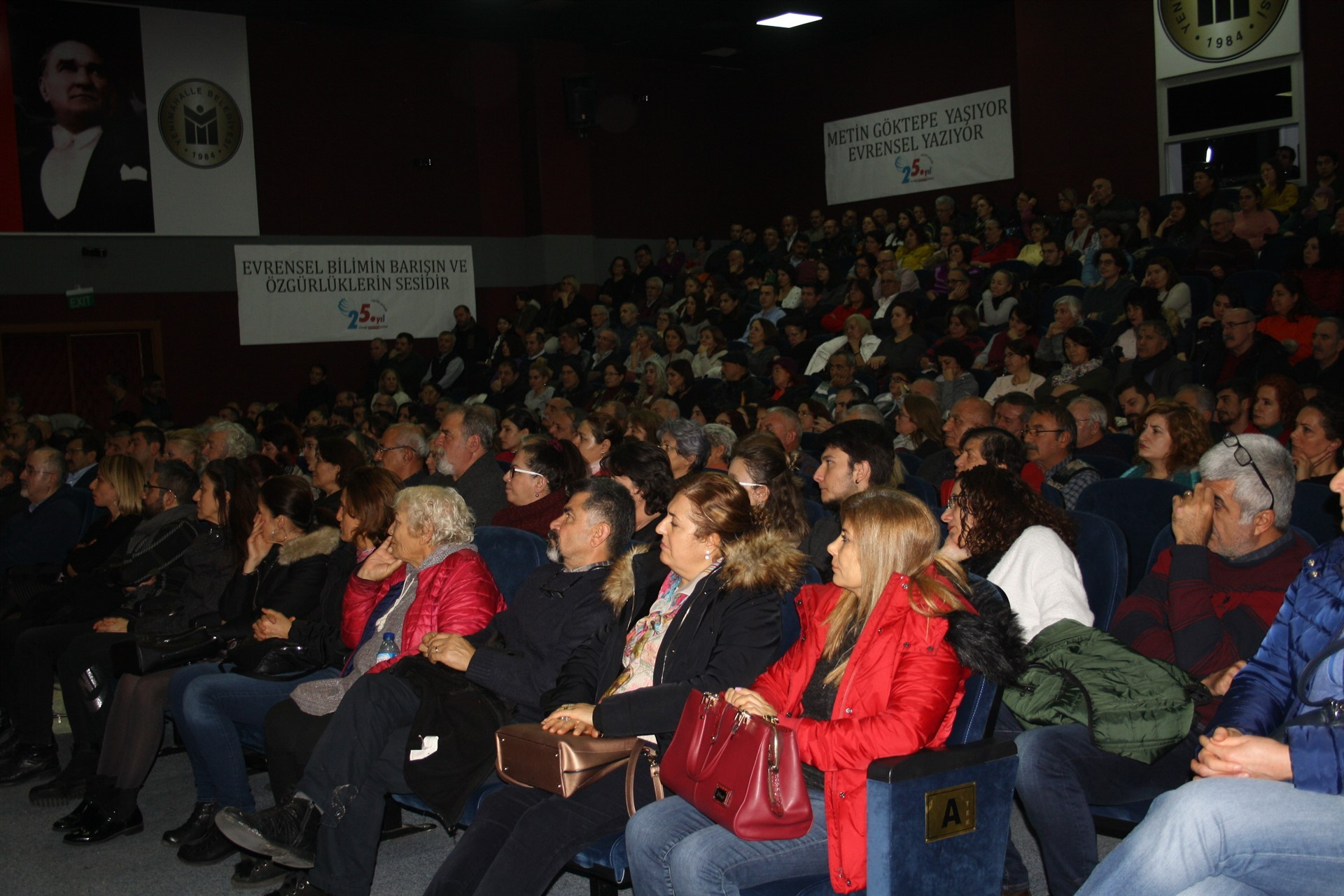 Ankara'da düzenlenen Evrensel Gazetesinin 25. yıl etkinliği