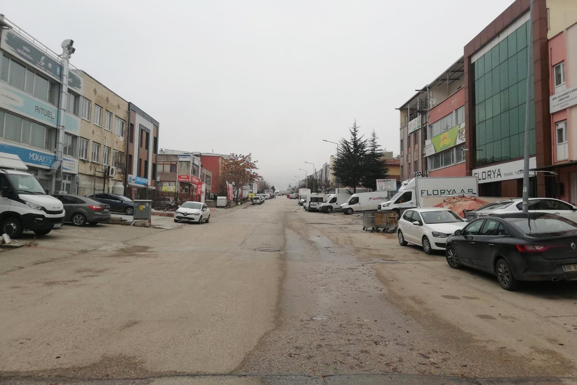Ankara Gersan Sanayi Sitesinden bir fotoğraf