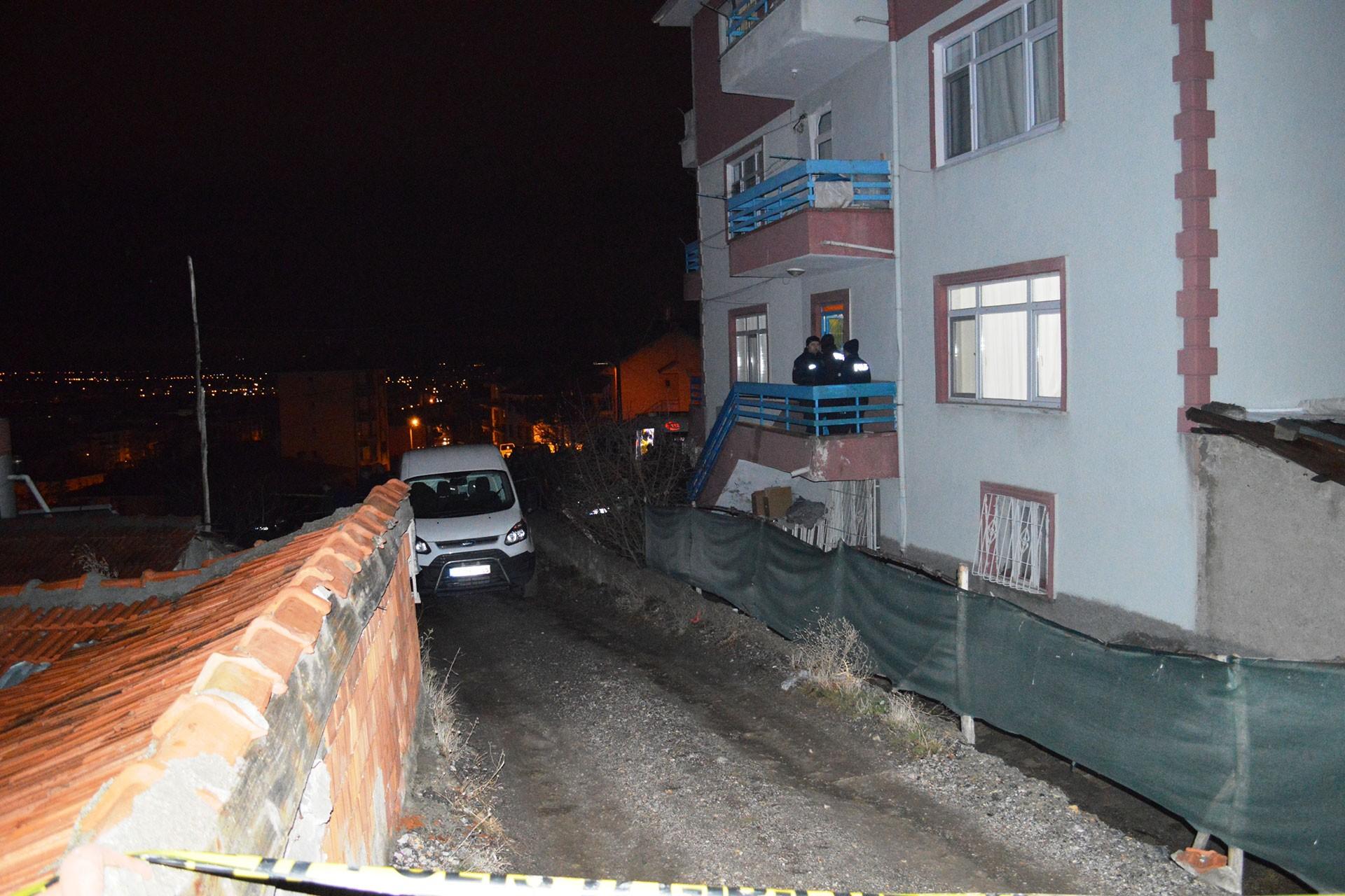 Nazmiye Koyuncu'nun ölü bulunduğu ev
